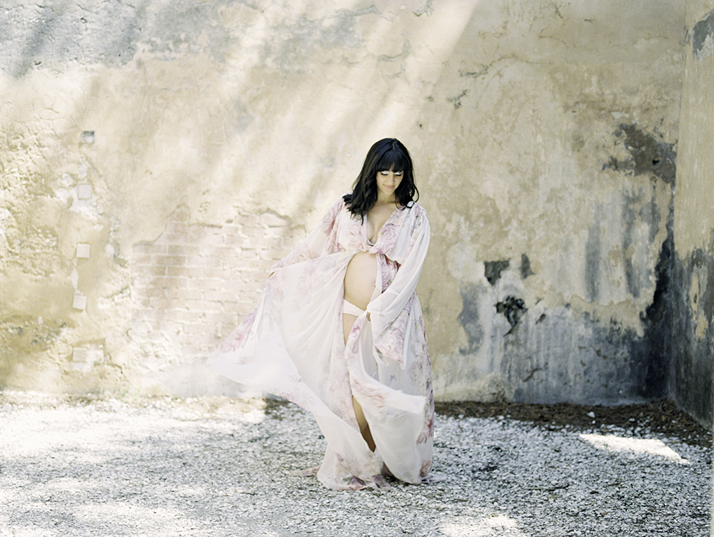 Maternity Session at Horton House Ruins in Jekyll Island, Georgia- Lisa Silva Photography-Jacksonville and St. Augustine Florida Fine Art Film Photography 1.jpg