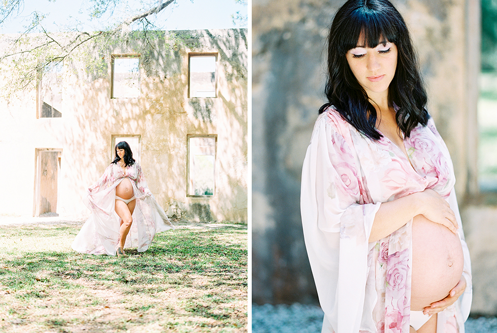 Maternity Session at Horton House Ruins in Jekyll Island, Georgia- Lisa Silva Photography-Jacksonville and St. Augustine Florida Fine Art Film Photography 10.jpg