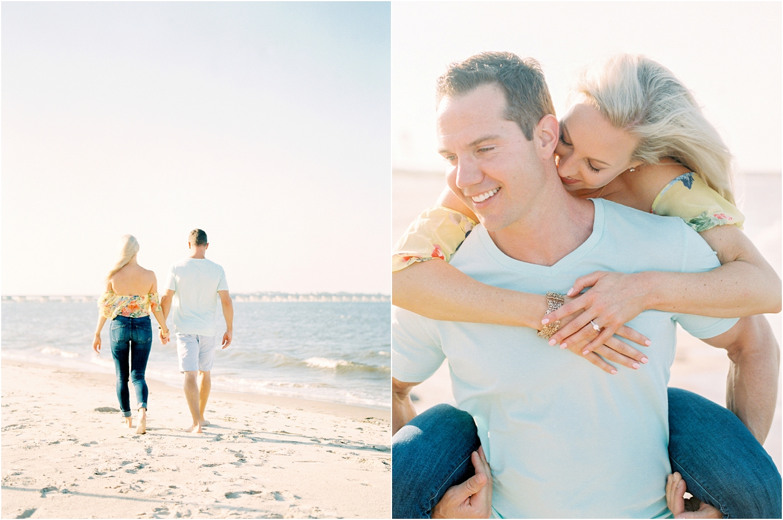 Lisa Silva Photography- Ponte Vedra Beach and Jacksonville, Florida Fine Art Film Wedding Photography- Engagement Shoot at Big Talbot Island_0007.jpg