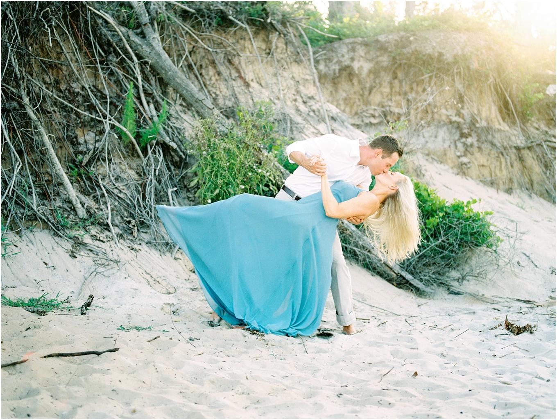 Lisa Silva Photography- Ponte Vedra Beach and Jacksonville, Florida Fine Art Film Wedding Photography- Engagement Shoot at Big Talbot Island_0020.jpg