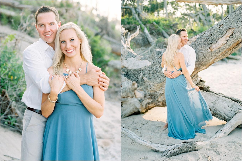 Lisa Silva Photography- Ponte Vedra Beach and Jacksonville, Florida Fine Art Film Wedding Photography- Engagement Shoot at Big Talbot Island_0022.jpg