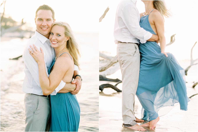 Lisa Silva Photography- Ponte Vedra Beach and Jacksonville, Florida Fine Art Film Wedding Photography- Engagement Shoot at Big Talbot Island_0033.jpg