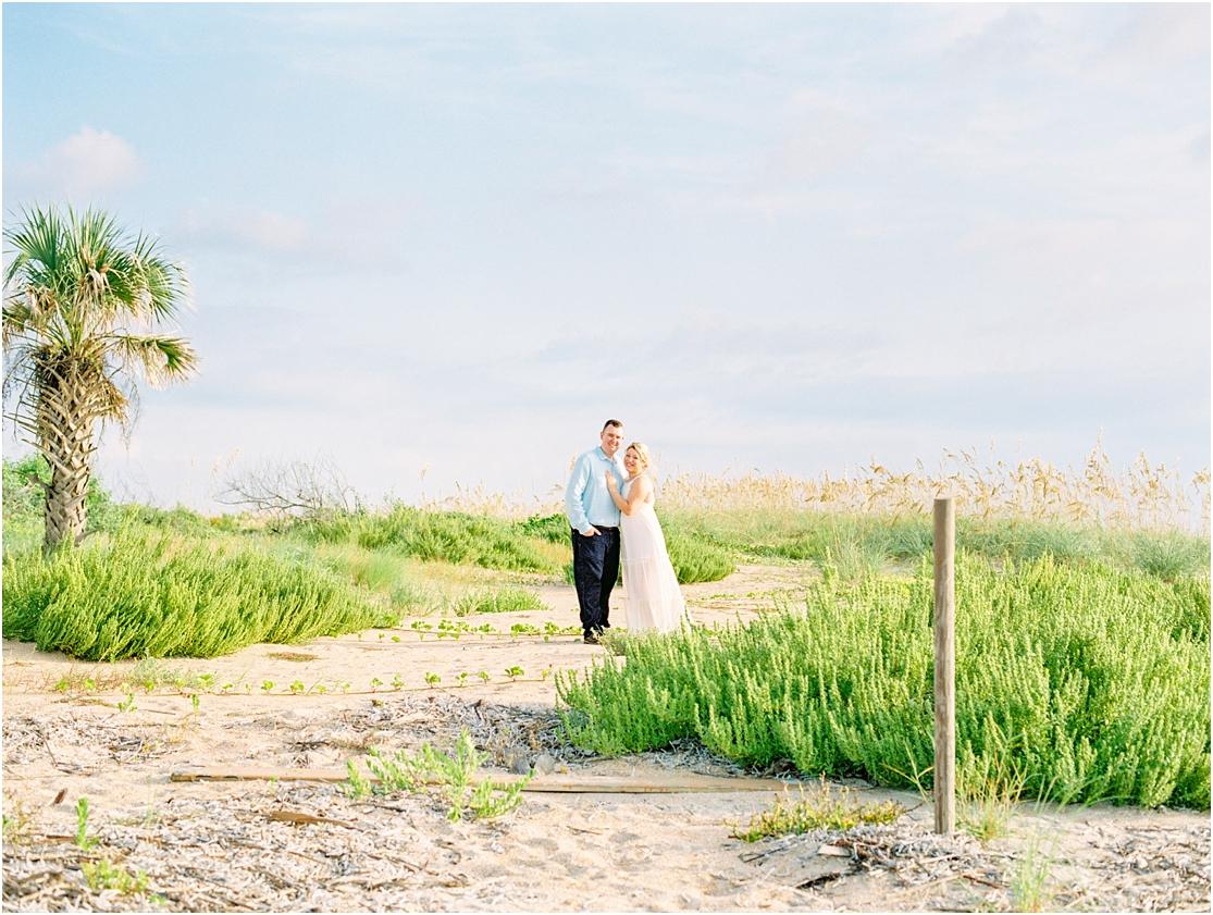Lisa Silva Photography- Ponte Vedra Beach, St. Augustine and Jacksonville, Florida Fine Art Film Wedding Photography- Sunrise Engagement Session at  Vilano Beach_0024.jpg