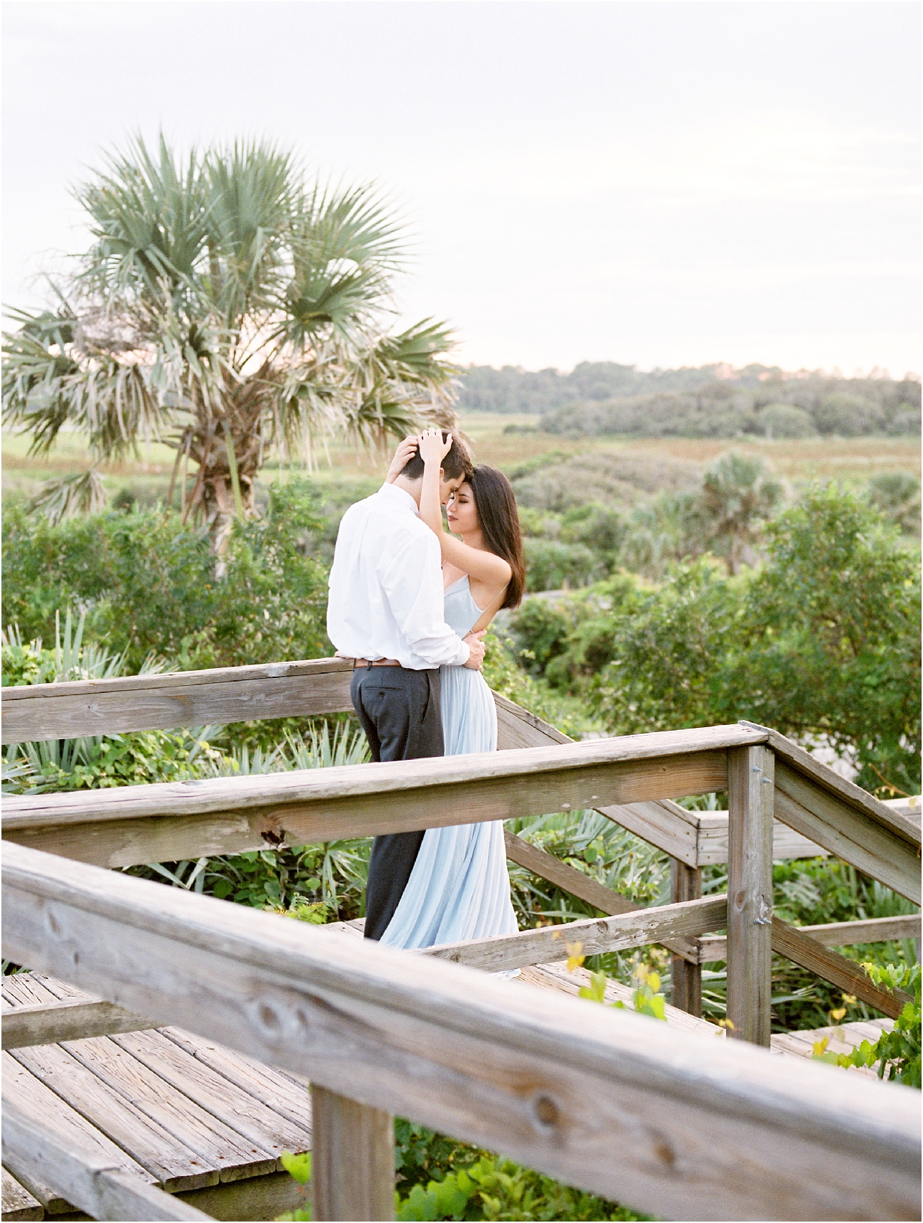Lisa Silva Photography- Ponte Vedra Beach, St. Augustine and Jacksonville, Florida Fine Art Film Wedding Photography- Sunset Engagement Session at  Guana Beach State Park_0026.jpg