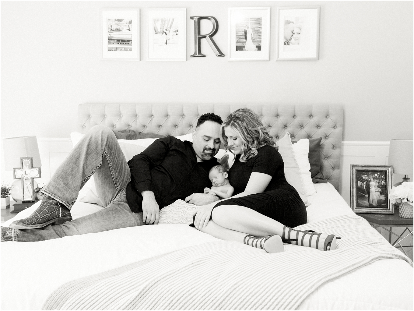Lisa Silva Photography- Ponte Vedra Beach, St. Augustine and Jacksonville, Florida Fine Art Film Wedding and Boudoir Photography- Lifestyle Family Session At Home With Newborn Baby_0012.jpg