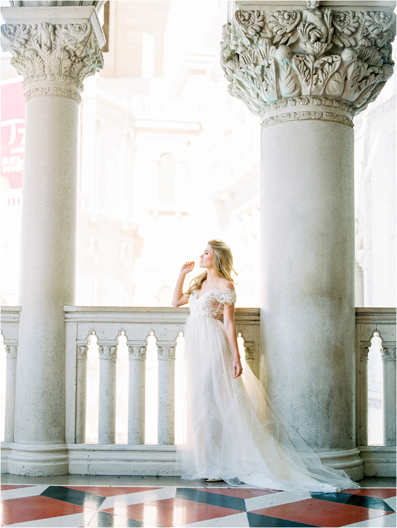 Lisa Silva Photography- Ponte Vedra Beach, St. Augustine and Jacksonville, Florida Fine Art Film Wedding and Boudoir Photography- Fine Art Film Bridal Editorial at the Venitian, Las Vegas_0018.jpg