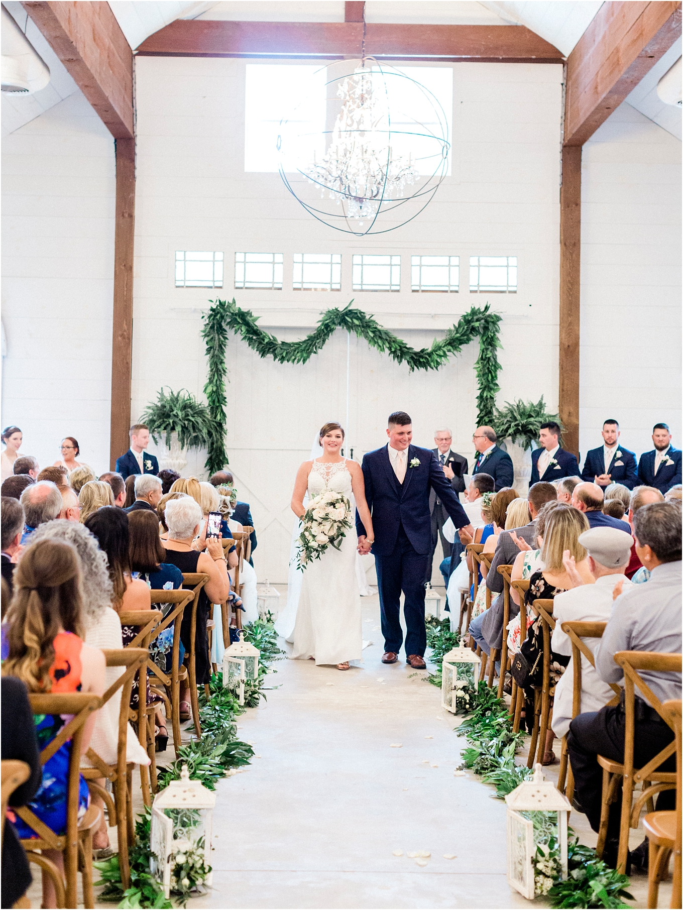 Lisa Silva Photography- Ponte Vedra Beach, St. Augustine and Jacksonville, Florida Fine Art Film Wedding and Boudoir Photography- Elegant Blush and Navy Wedding at Chandler Oaks Barn in St. Augustine, Florida_0070.jpg