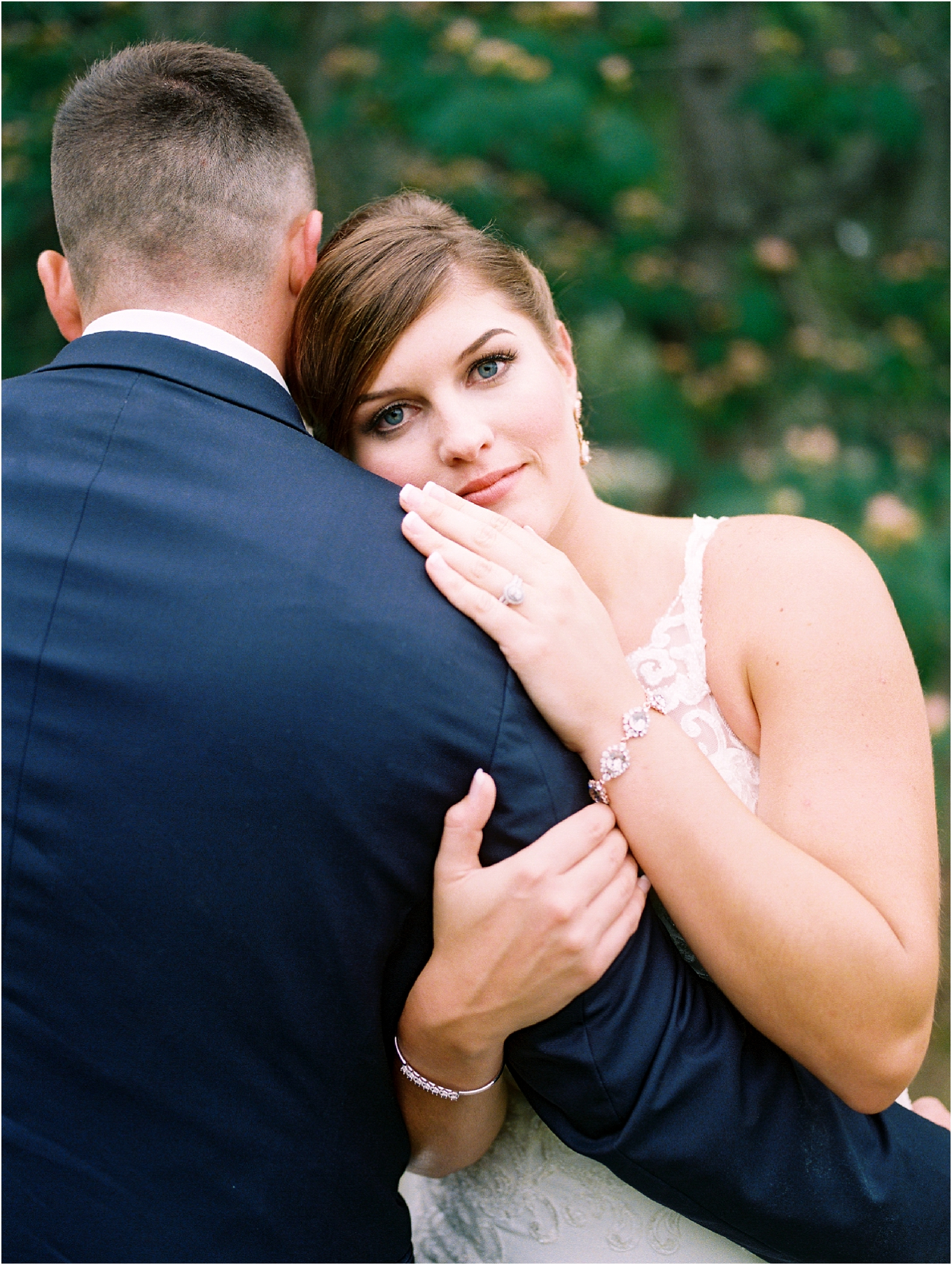 Lisa Silva Photography- Ponte Vedra Beach, St. Augustine and Jacksonville, Florida Fine Art Film Wedding and Boudoir Photography- Elegant Blush and Navy Wedding at Chandler Oaks Barn in St. Augustine, Florida_0079.jpg