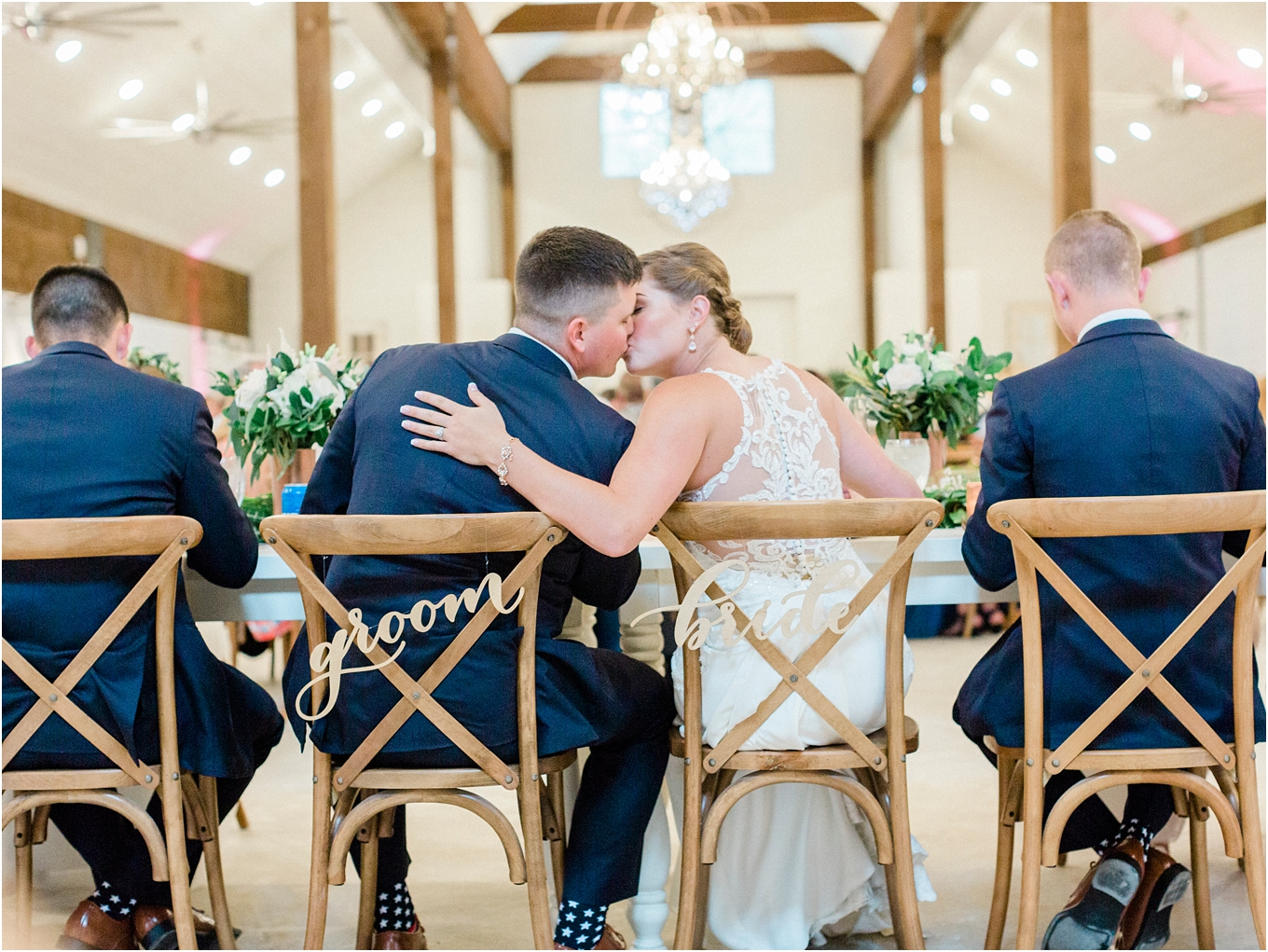 Lisa Silva Photography- Ponte Vedra Beach, St. Augustine and Jacksonville, Florida Fine Art Film Wedding and Boudoir Photography- Elegant Blush and Navy Wedding at Chandler Oaks Barn in St. Augustine, Florida_0112.jpg