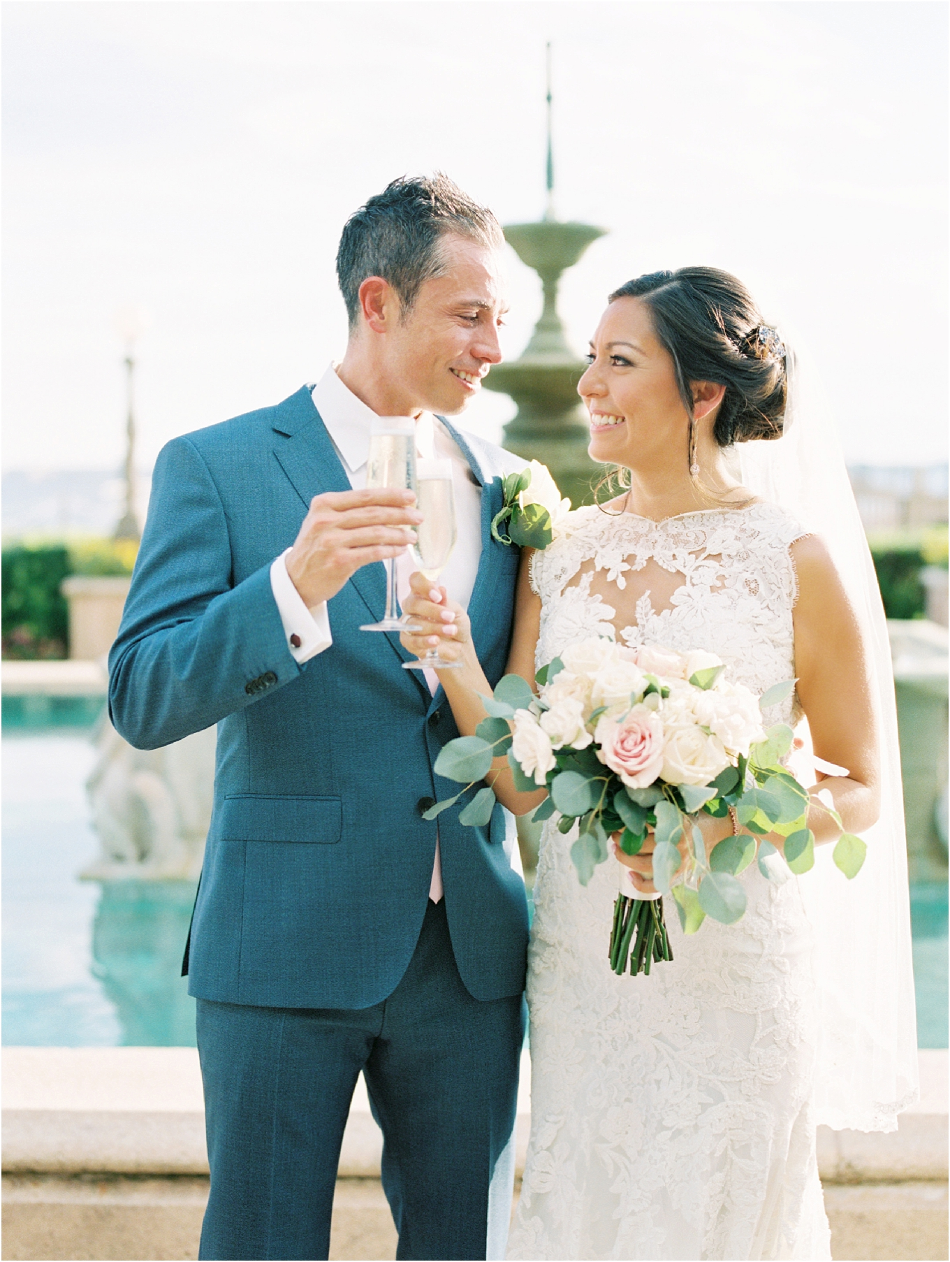 Lisa Silva Photography- Ponte Vedra Beach, St. Augustine and Jacksonville, Florida Fine Art Film Wedding and Boudoir Photography- Elegant Blush  Wedding at Epping Forest Yacht Club in Jacksonville, Florida_0063.jpg