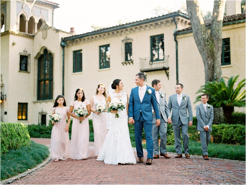 Lisa Silva Photography- Ponte Vedra Beach, St. Augustine and Jacksonville, Florida Fine Art Film Wedding and Boudoir Photography- Elegant Blush  Wedding at Epping Forest Yacht Club in Jacksonville, Florida_0067.jpg