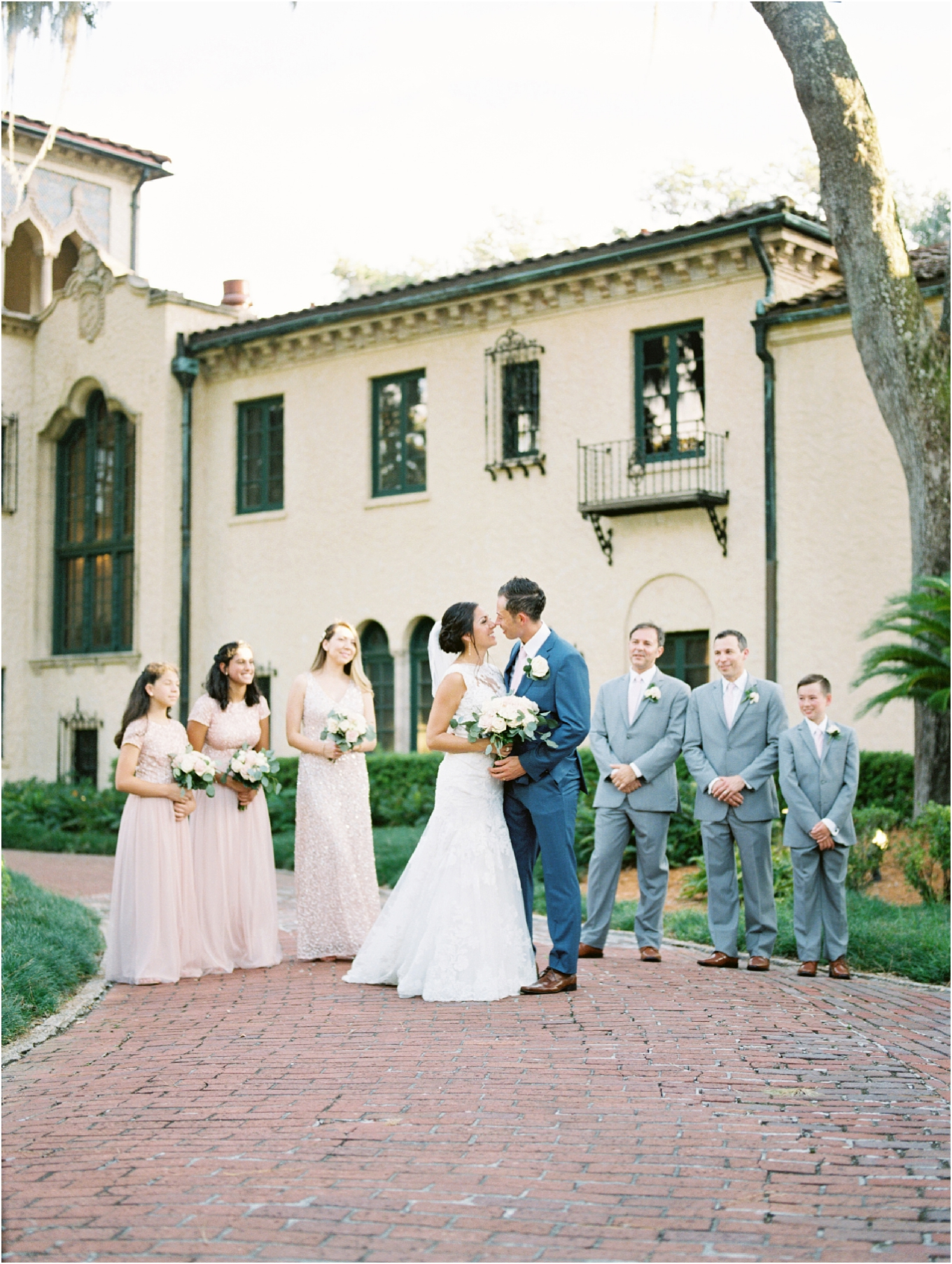 Lisa Silva Photography- Ponte Vedra Beach, St. Augustine and Jacksonville, Florida Fine Art Film Wedding and Boudoir Photography- Elegant Blush  Wedding at Epping Forest Yacht Club in Jacksonville, Florida_0066.jpg