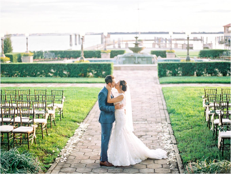 Lisa Silva Photography- Ponte Vedra Beach, St. Augustine and Jacksonville, Florida Fine Art Film Wedding and Boudoir Photography- Elegant Blush  Wedding at Epping Forest Yacht Club in Jacksonville, Florida_0077.jpg