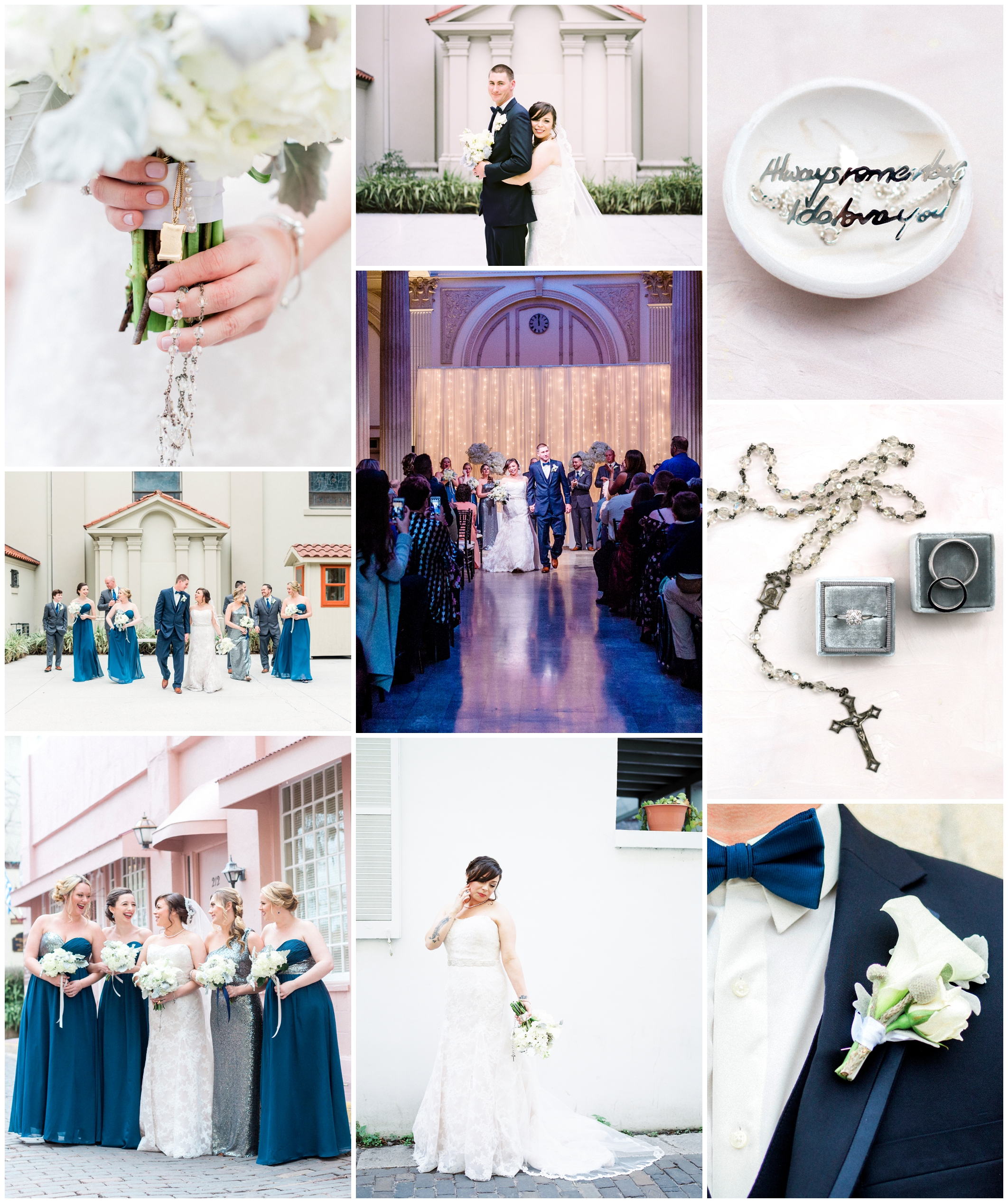 Sophia and Jay | Treasury on the Plaza | St. Augustine, Florida