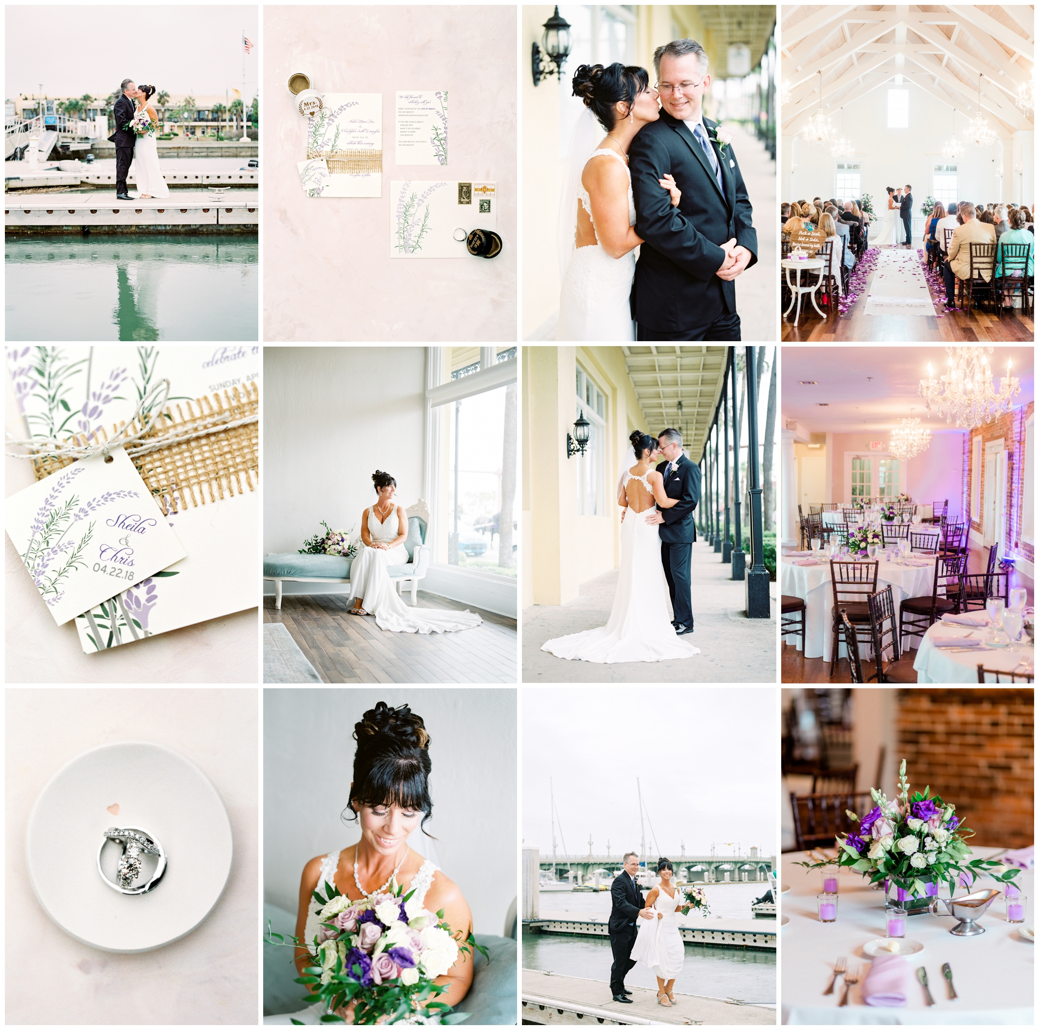 Sheila and Chris | The White Room | St. Augustine, Florida