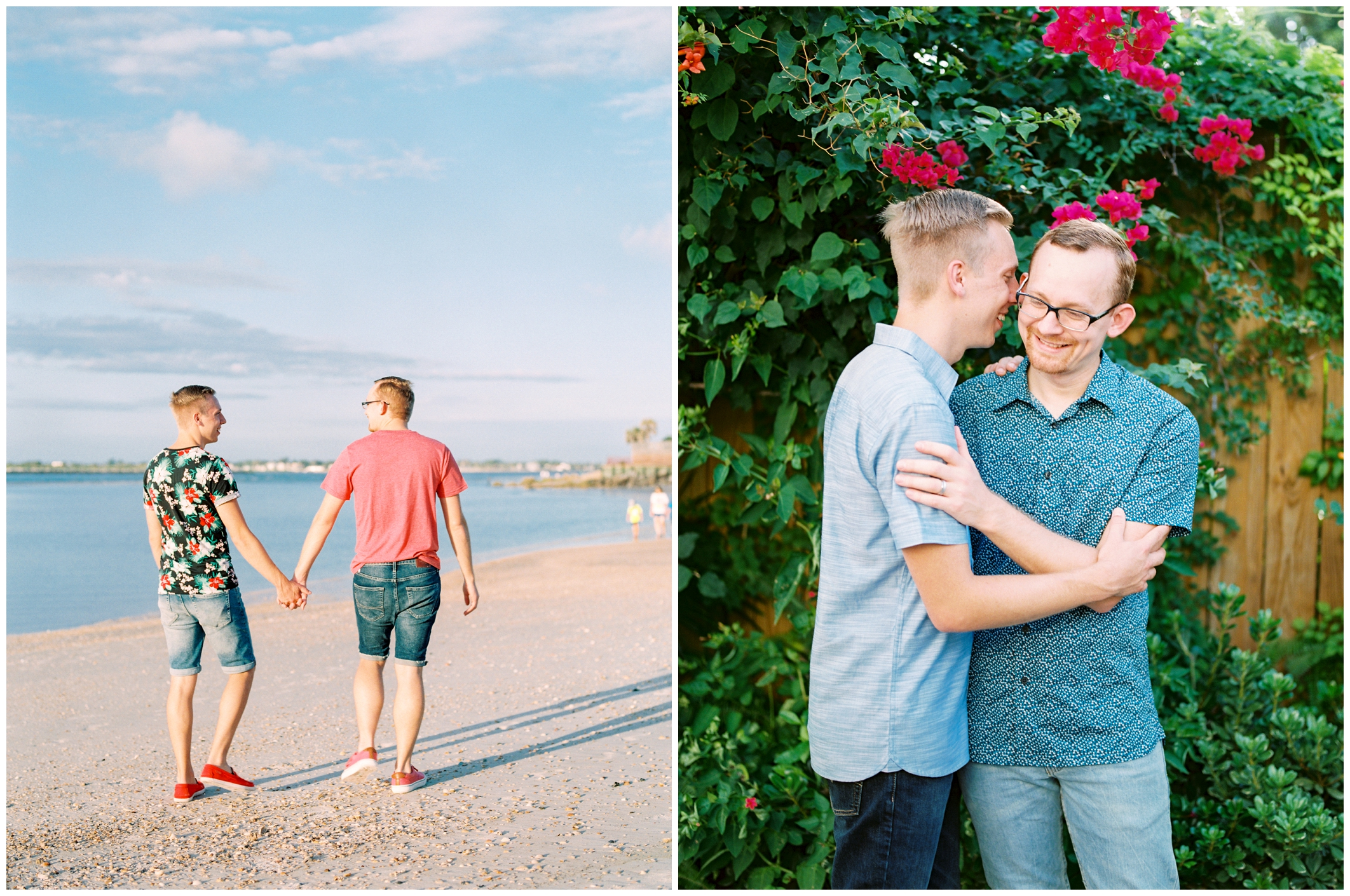 Bryan and Justin | Vilano Beach, Florida