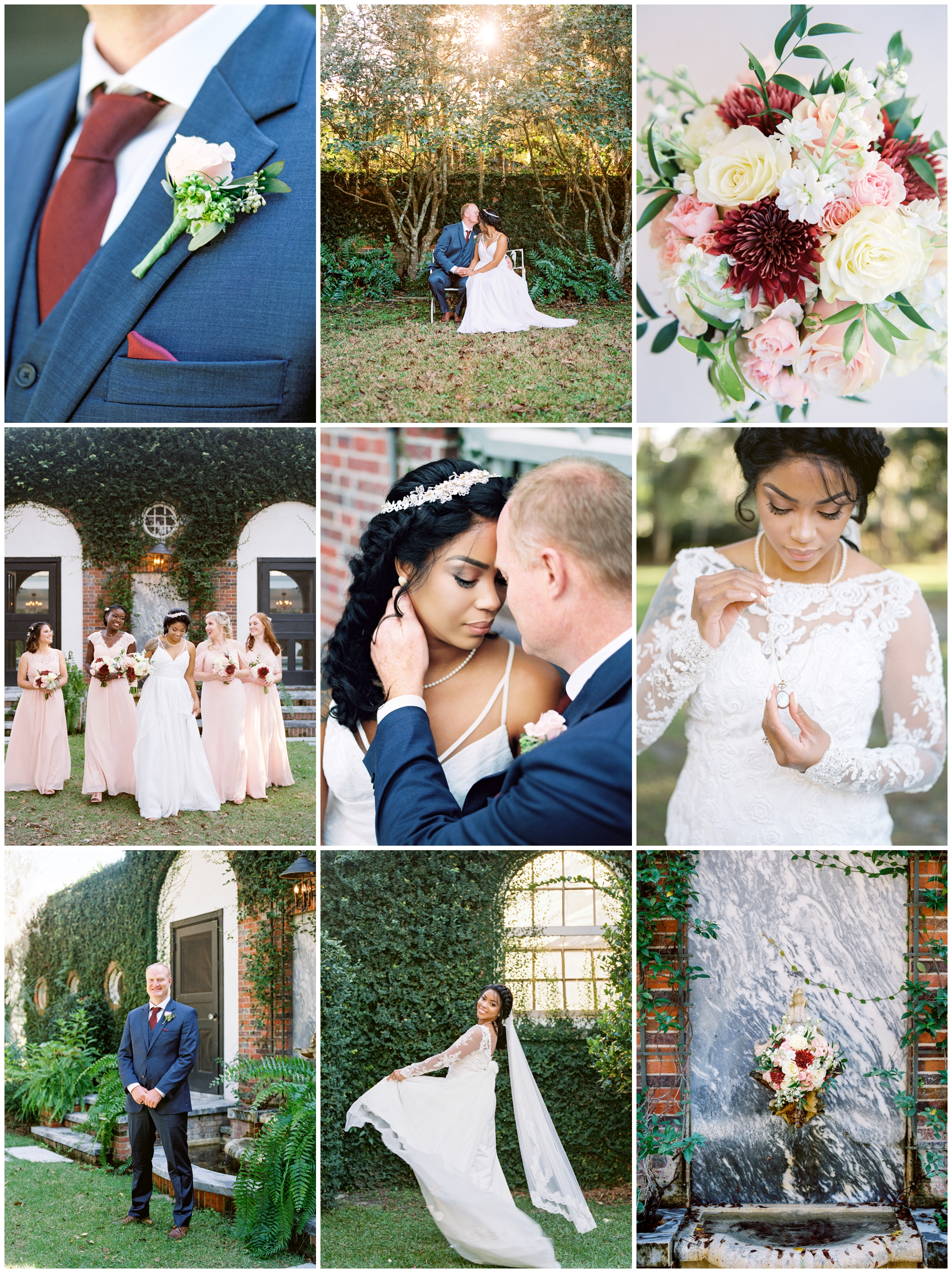 Amber and Duane | South Eden Plantation | Thomasville, Georgia
