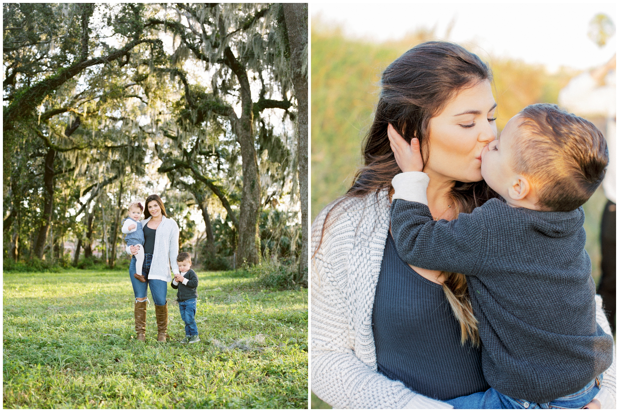 Autumn, Willa, and Wyatt | St. Augustine, Florida
