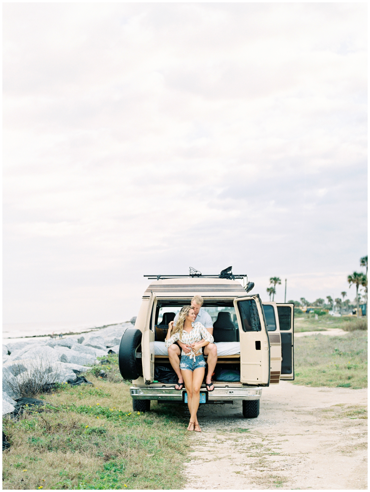 Lisa Silva Photography -Beachy Lifestyle Engagement Session in Palm Coast Florida - Jacksonville Film Photograpgers_0003.jpg