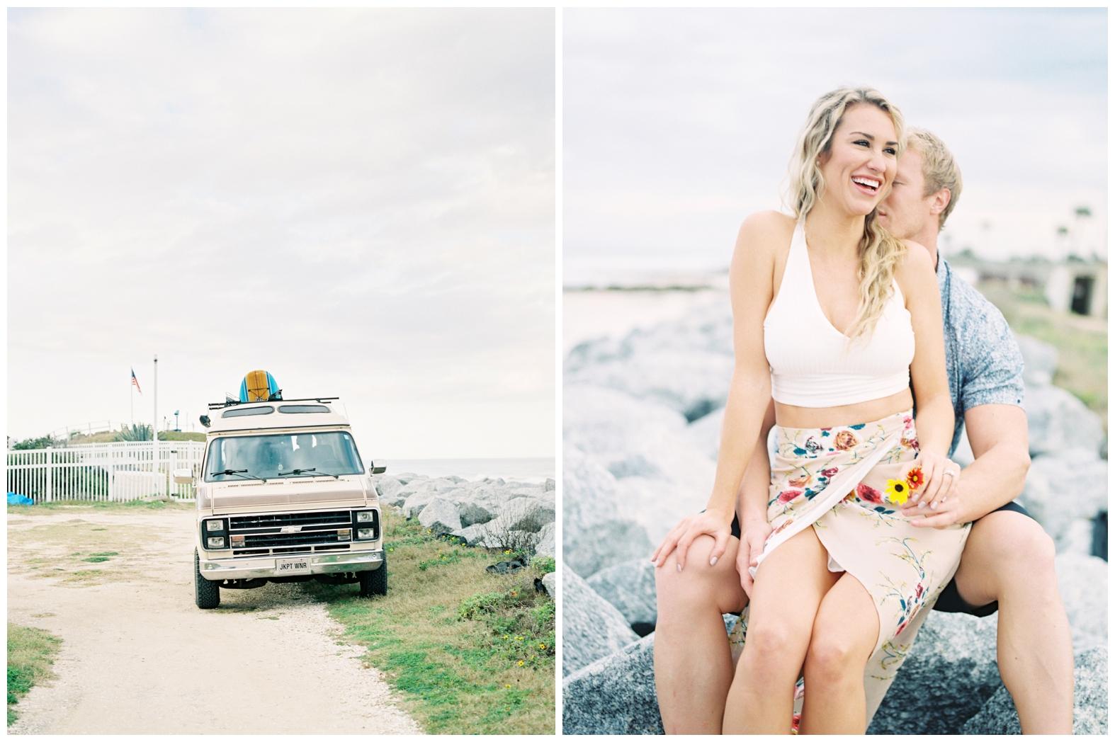 Lisa Silva Photography -Beachy Lifestyle Engagement Session in Palm Coast Florida - Jacksonville Film Photograpgers_0013.jpg
