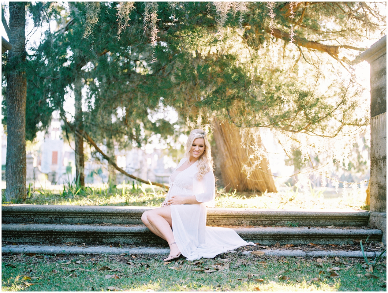 Lisa Silva Photography -Maternity Session at Cumberland Island, Georgia - Jacksonville and North East Florida Fine Art Film Photographer_0015.jpg