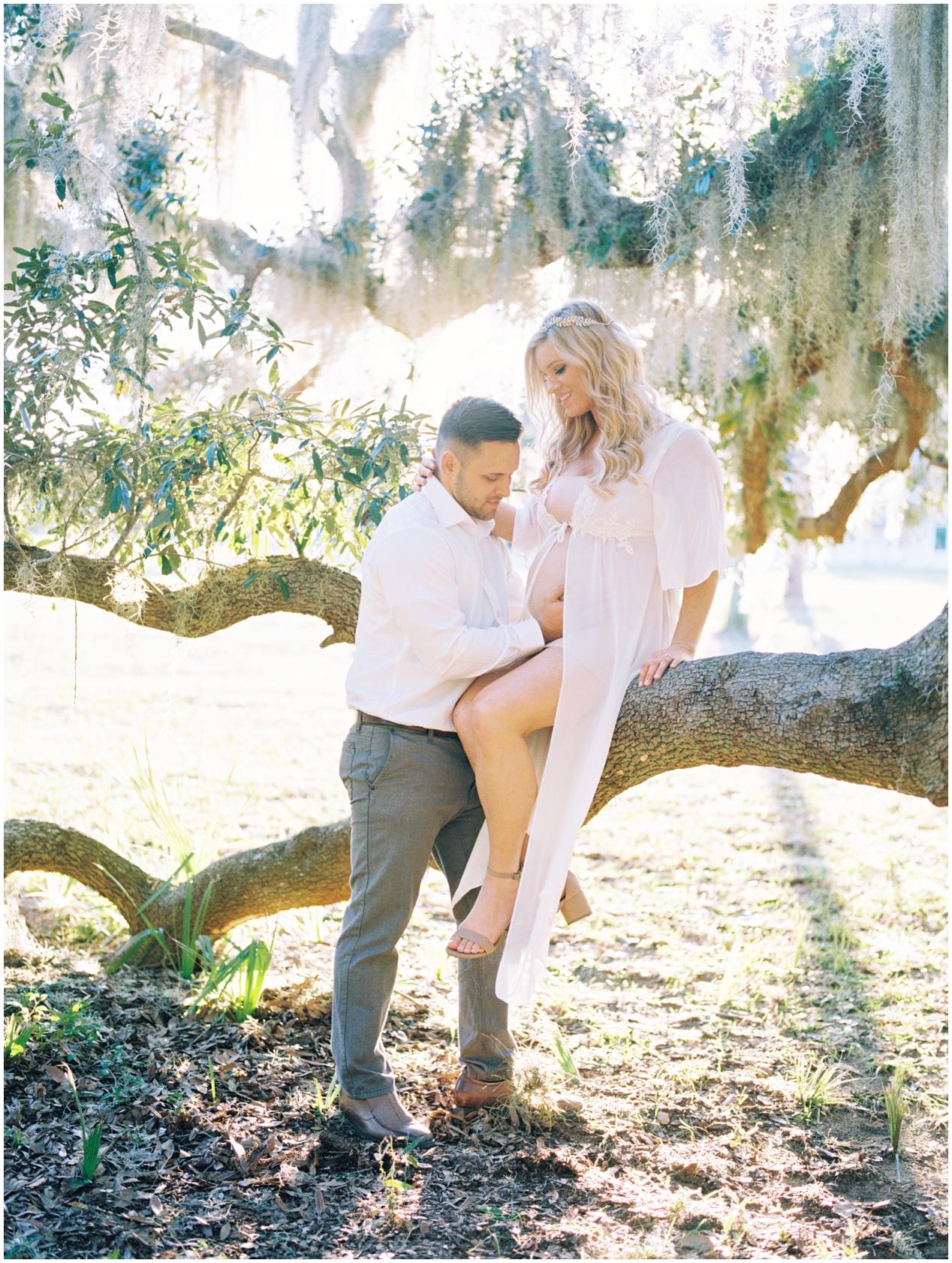 Lisa Silva Photography -Maternity Session at Cumberland Island, Georgia - Jacksonville and North East Florida Fine Art Film Photographer_0023.jpg