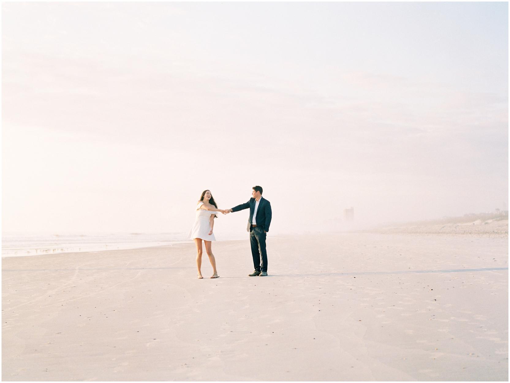 Lisa Silva Photography -Engagement Session at Neptune Beach, Florida- Jacksonville and North East Florida Fine Art Film Photographer_0008.jpg