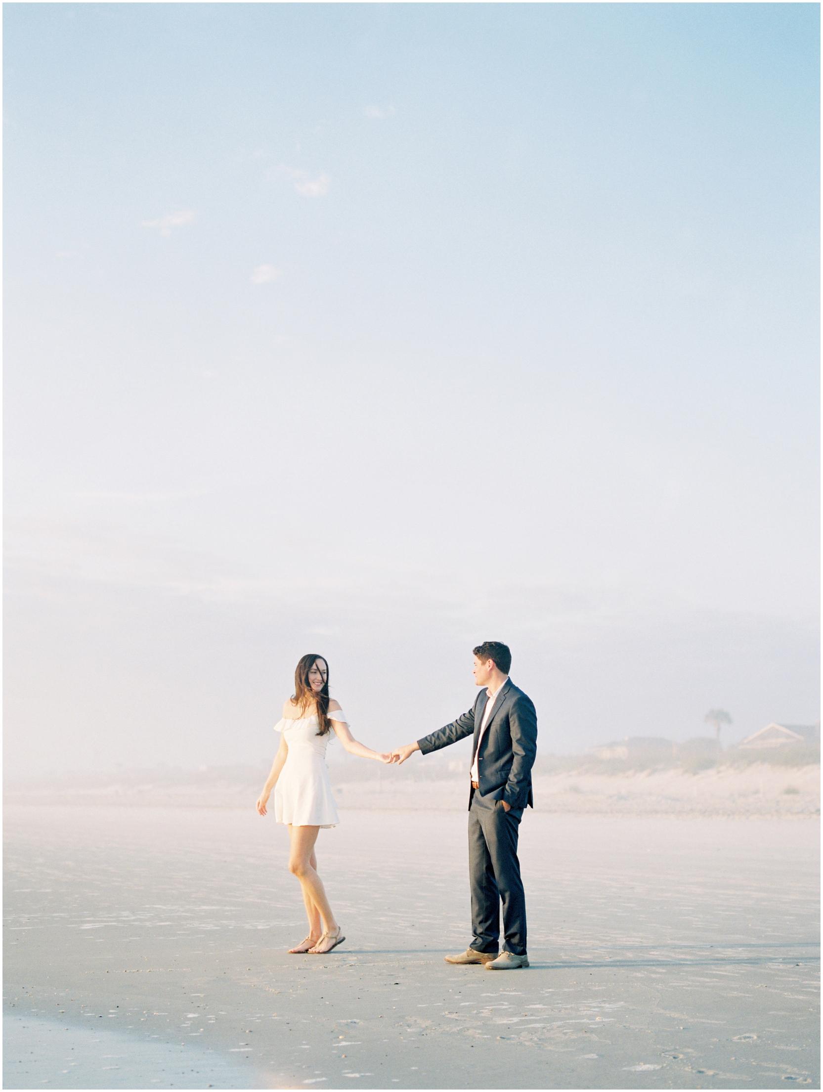 Lisa Silva Photography -Engagement Session at Neptune Beach, Florida- Jacksonville and North East Florida Fine Art Film Photographer_0012.jpg