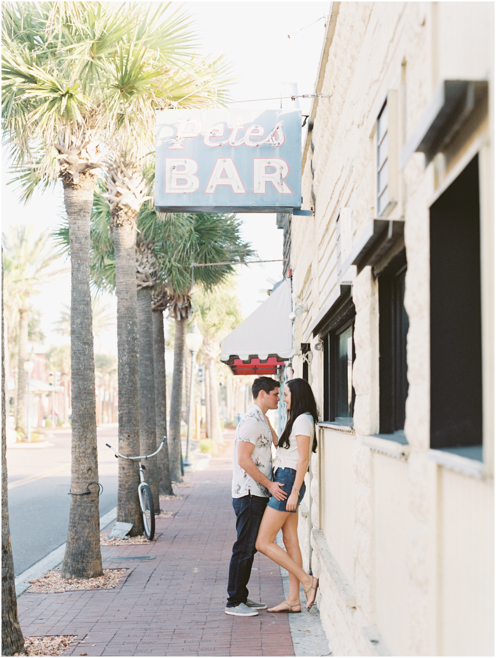 Lisa Silva Photography -Engagement Session at Neptune Beach, Florida- Jacksonville and North East Florida Fine Art Film Photographer_0022.jpg