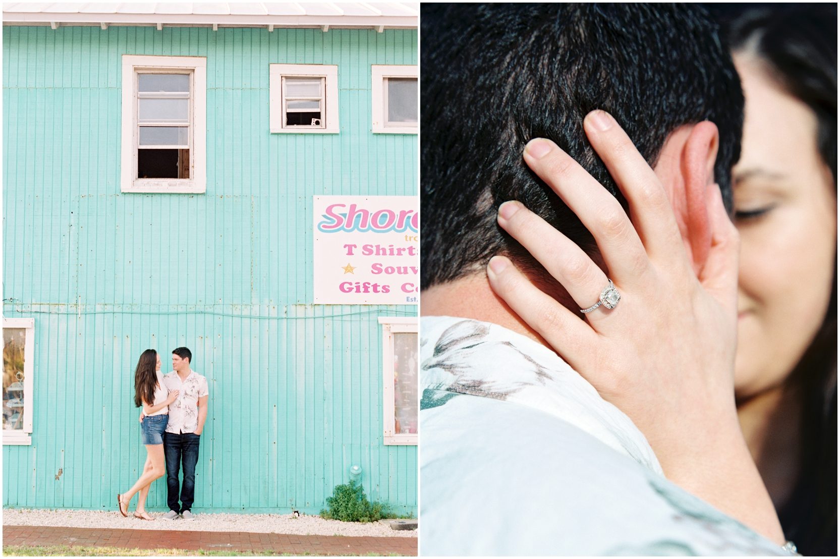 Lisa Silva Photography -Engagement Session at Neptune Beach, Florida- Jacksonville and North East Florida Fine Art Film Photographer_0029.jpg