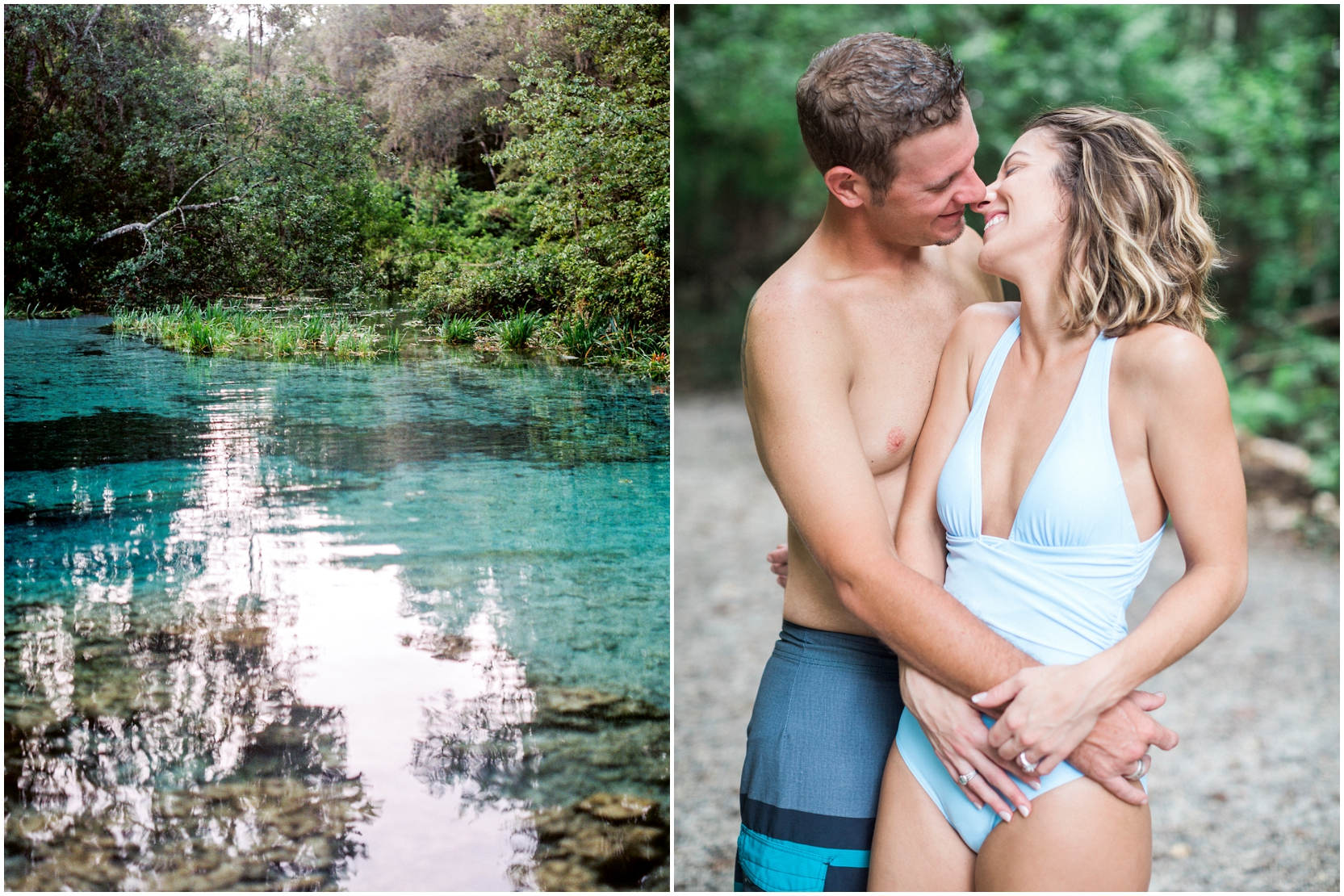 Lisa Silva Photography -Couples Session at the Ichetucknee River- Jacksonville and North East Florida Fine Art Film Photographer_11.jpg