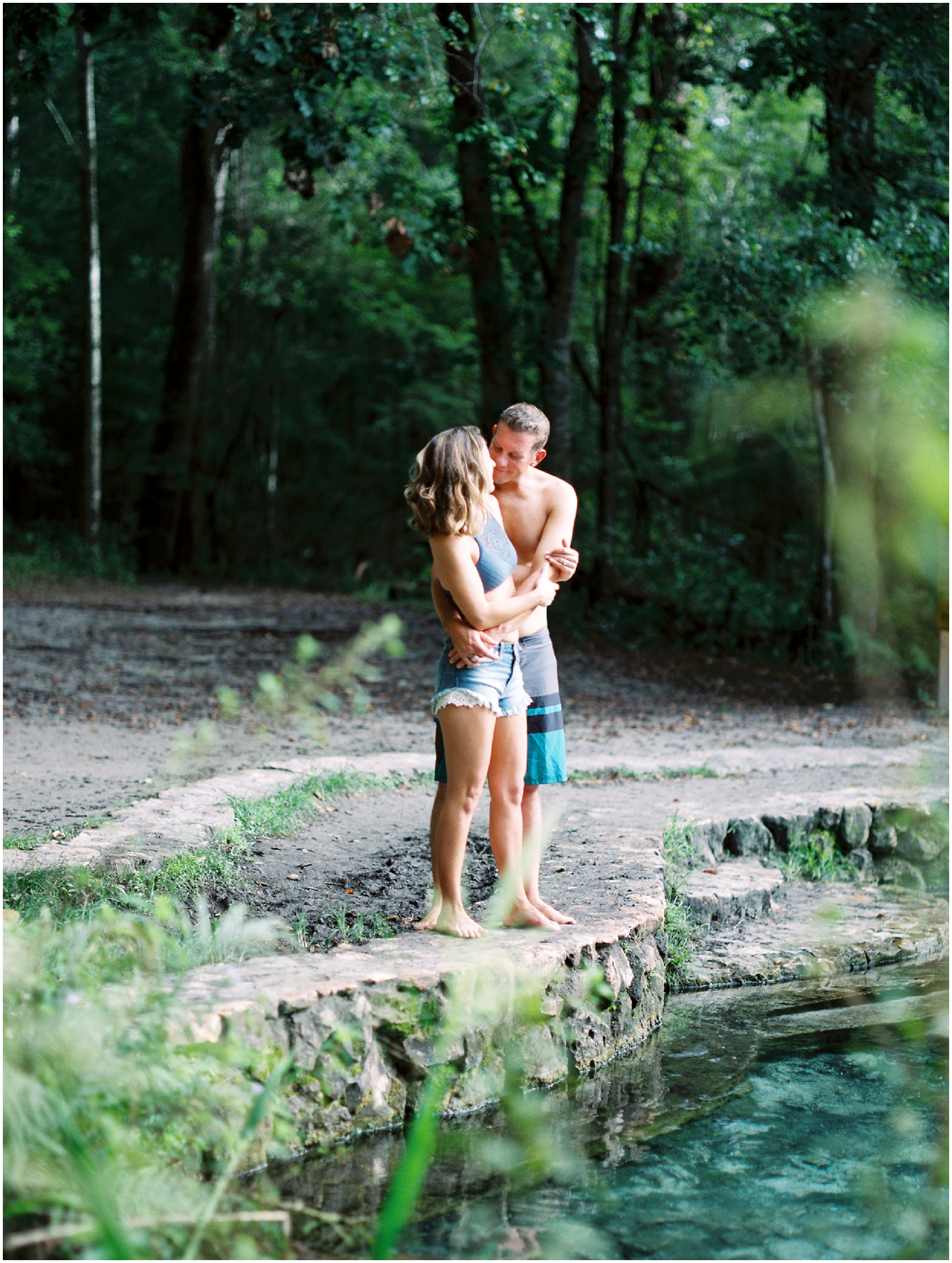 Lisa Silva Photography -Couples Session at the Ichetucknee River- Jacksonville and North East Florida Fine Art Film Photographer_10.jpg