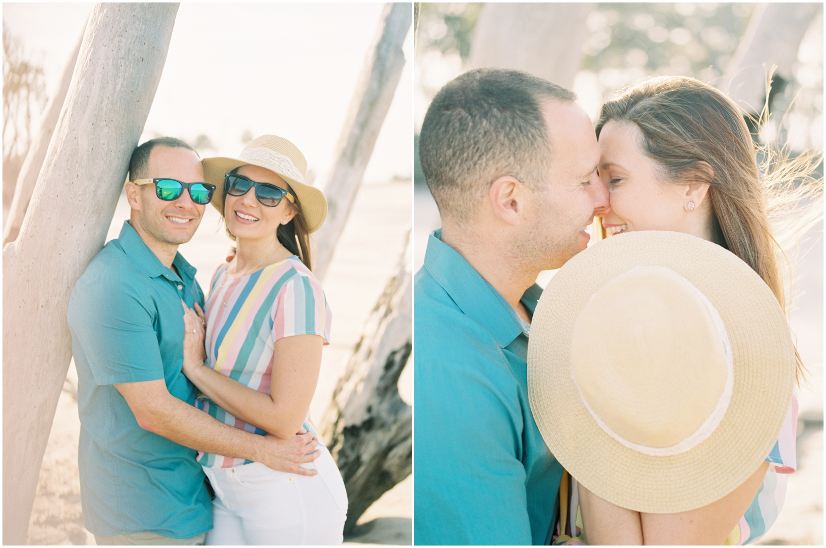 Lisa Silva Photography -Engagement Session at Big Talbot Island- Jacksonville and North East Florida Fine Art Film Photographer_0023.jpg