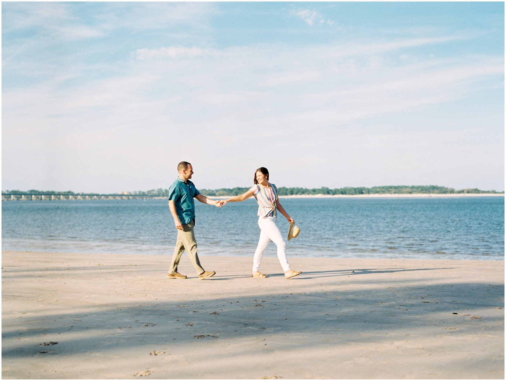 Lisa Silva Photography -Engagement Session at Big Talbot Island- Jacksonville and North East Florida Fine Art Film Photographer_0029.jpg