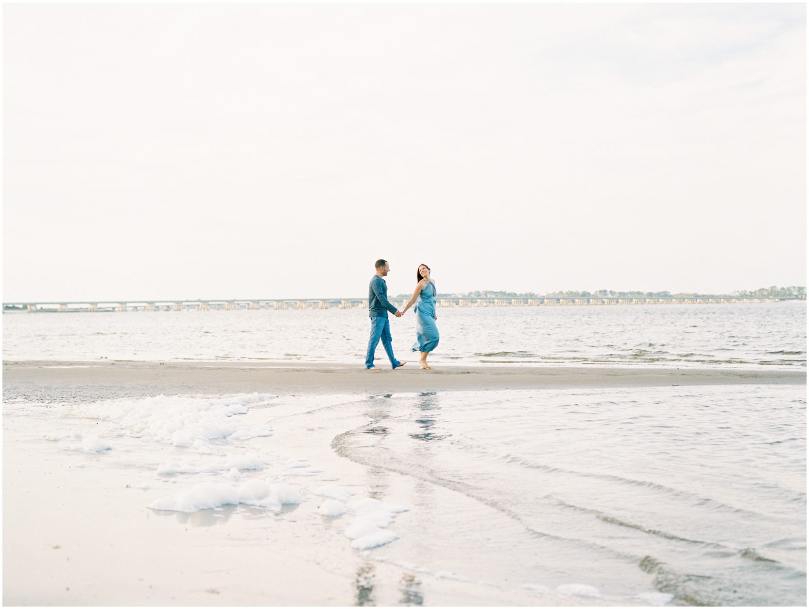Lisa Silva Photography -Engagement Session at Big Talbot Island- Jacksonville and North East Florida Fine Art Film Photographer_0049.jpg