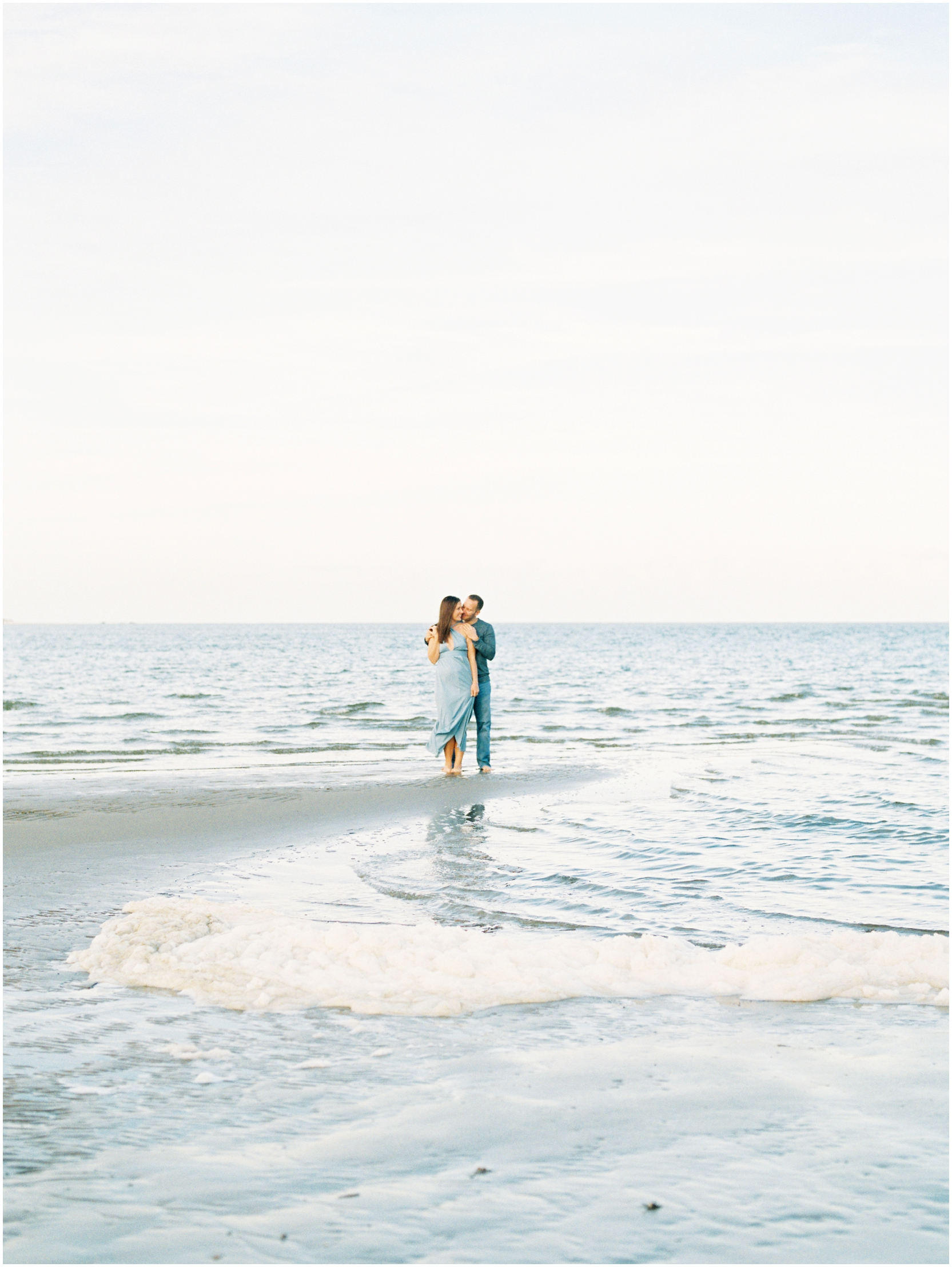 Lisa Silva Photography -Engagement Session at Big Talbot Island- Jacksonville and North East Florida Fine Art Film Photographer_0050.jpg