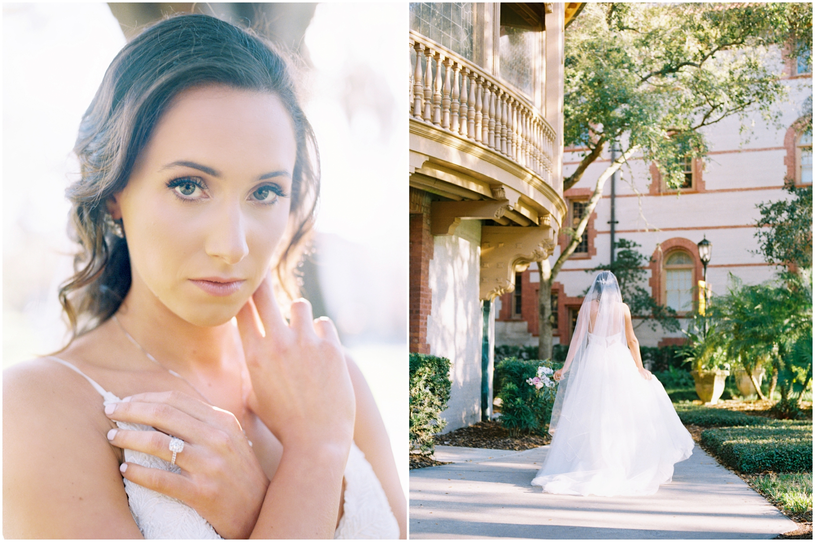 Lisa Silva Photography -Bridal Portrait Session in St. Augustine, Florida- Jacksonville and North East Florida Fine Art Film Photographer_008.jpg