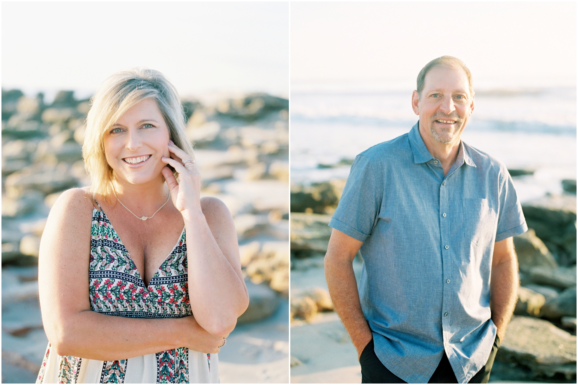 Lisa Silva Photography- Jacksonville, St. Augustine, Amelia Island, Ponte Vedra Beach, North East Florida Fine Art Film Photographer- Anniversary Session at Washington Oaks in Palm Coast, Florida_0015.jpg