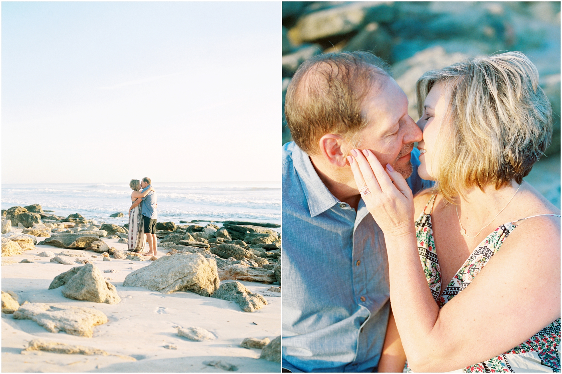 Lisa Silva Photography- Jacksonville, St. Augustine, Amelia Island, Ponte Vedra Beach, North East Florida Fine Art Film Photographer- Anniversary Session at Washington Oaks in Palm Coast, Florida_0025.jpg