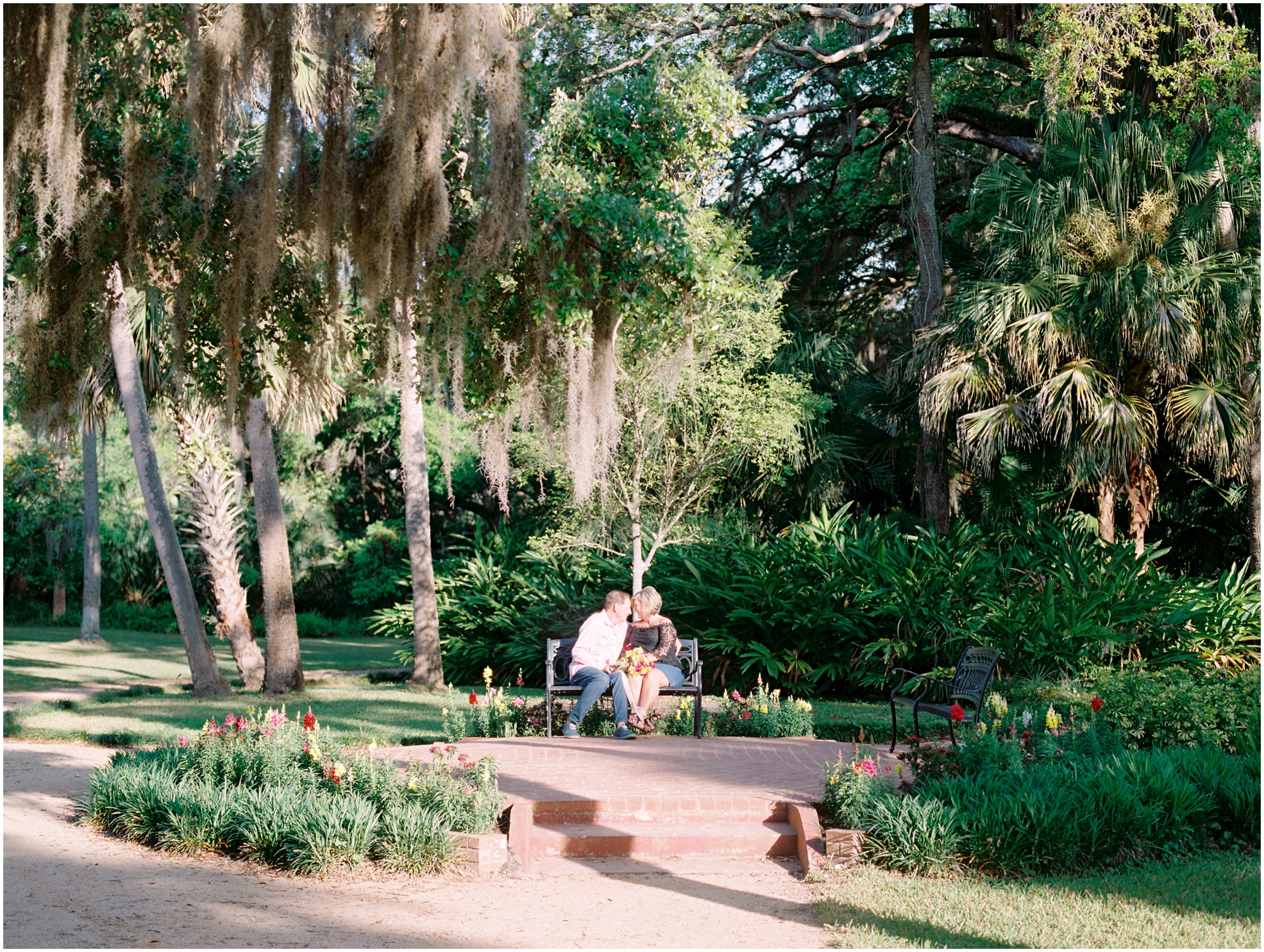 Lisa Silva Photography- Jacksonville, St. Augustine, Amelia Island, Ponte Vedra Beach, North East Florida Fine Art Film Photographer- Anniversary Session at Washington Oaks in Palm Coast, Florida_0034.jpg