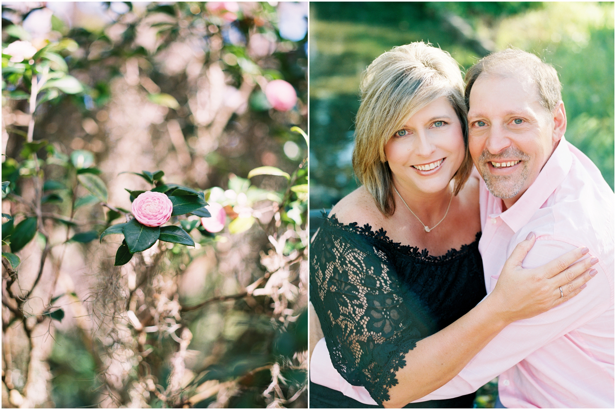 Lisa Silva Photography- Jacksonville, St. Augustine, Amelia Island, Ponte Vedra Beach, North East Florida Fine Art Film Photographer- Anniversary Session at Washington Oaks in Palm Coast, Florida_0036.jpg