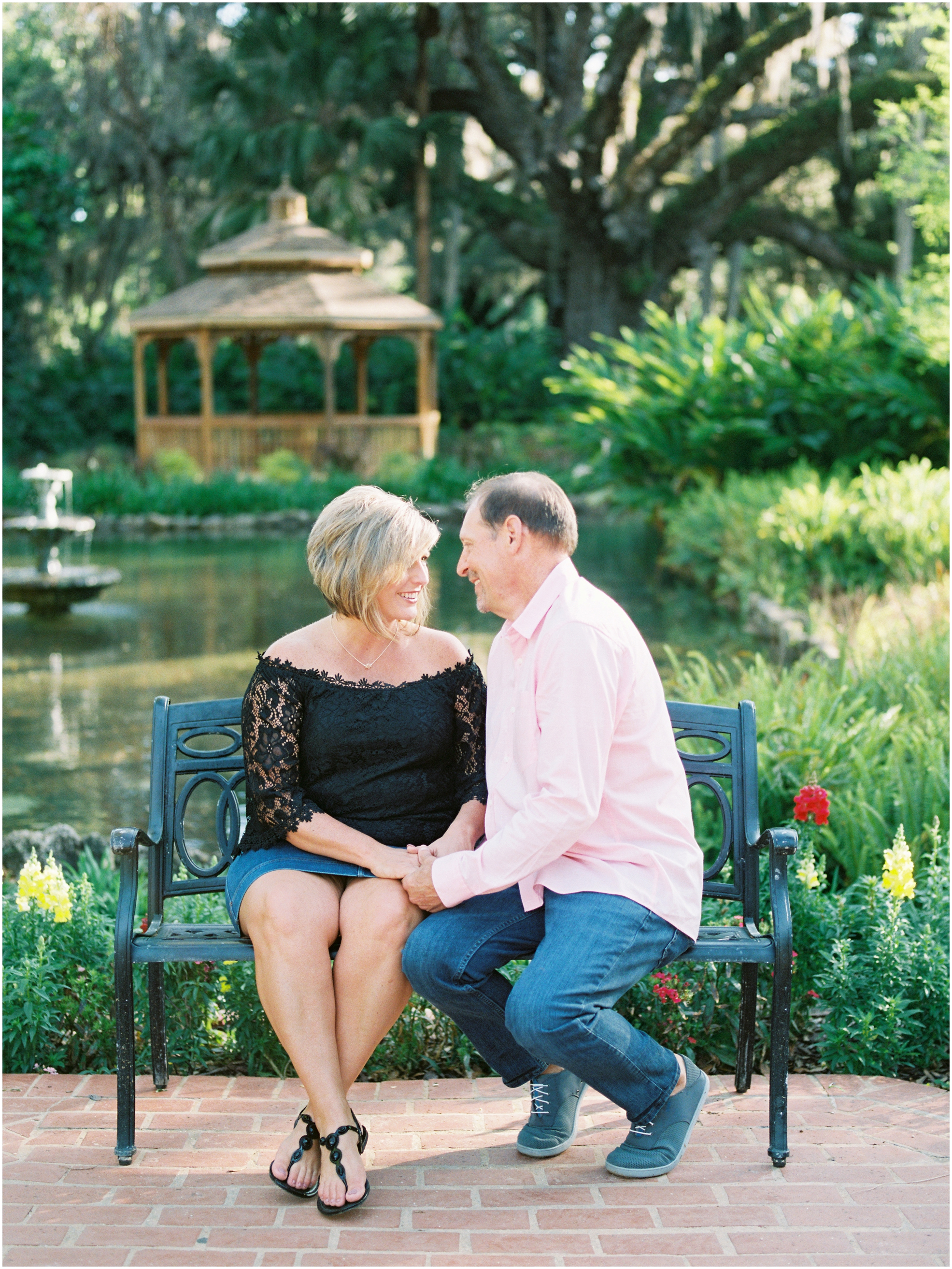 Lisa Silva Photography- Jacksonville, St. Augustine, Amelia Island, Ponte Vedra Beach, North East Florida Fine Art Film Photographer- Anniversary Session at Washington Oaks in Palm Coast, Florida_0035.jpg