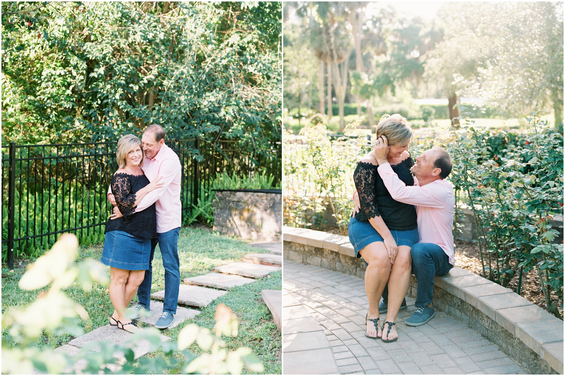 Lisa Silva Photography- Jacksonville, St. Augustine, Amelia Island, Ponte Vedra Beach, North East Florida Fine Art Film Photographer- Anniversary Session at Washington Oaks in Palm Coast, Florida_0039.jpg