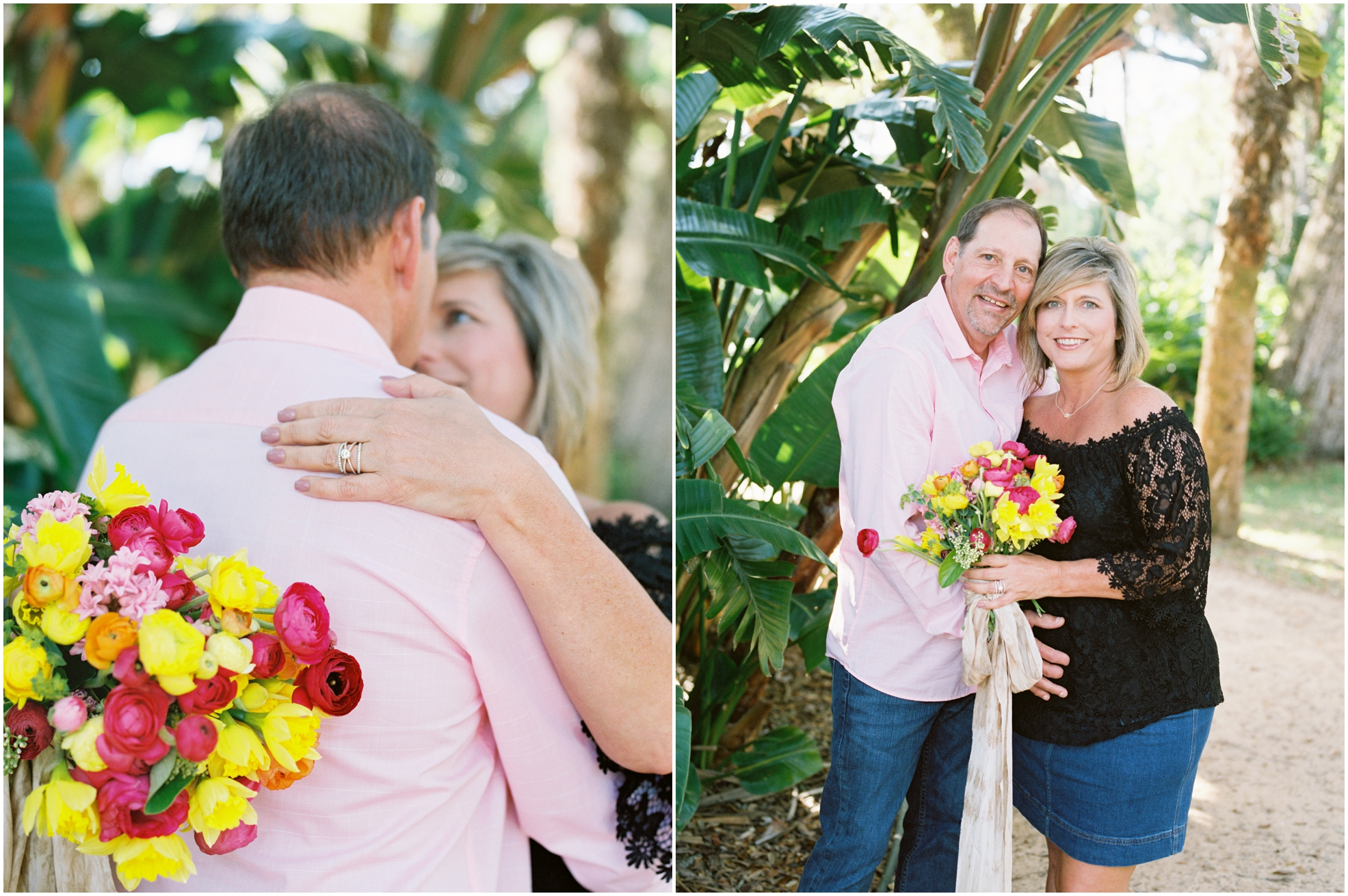 Lisa Silva Photography- Jacksonville, St. Augustine, Amelia Island, Ponte Vedra Beach, North East Florida Fine Art Film Photographer- Anniversary Session at Washington Oaks in Palm Coast, Florida_0050.jpg