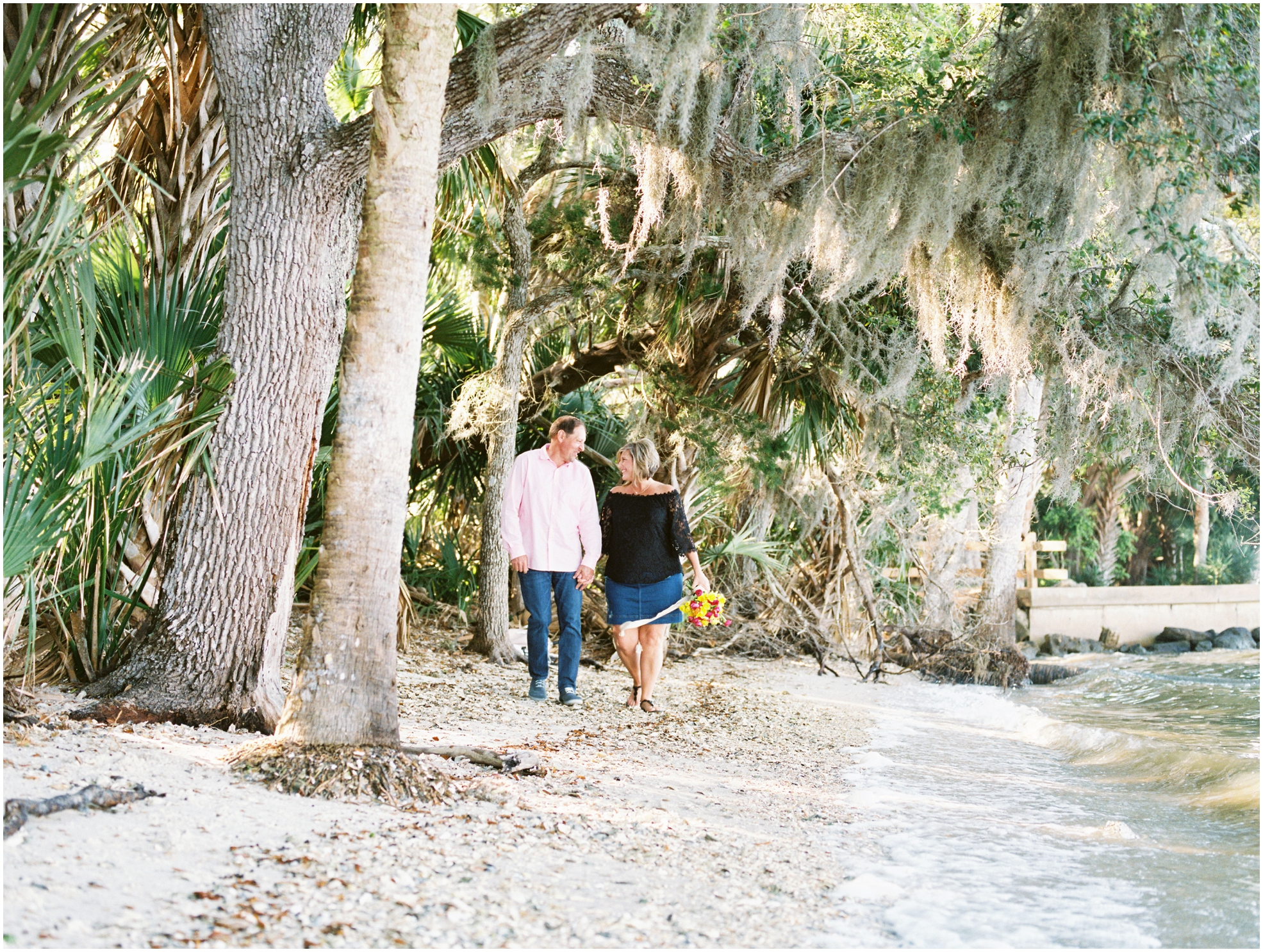 Lisa Silva Photography- Jacksonville, St. Augustine, Amelia Island, Ponte Vedra Beach, North East Florida Fine Art Film Photographer- Anniversary Session at Washington Oaks in Palm Coast, Florida_0053.jpg