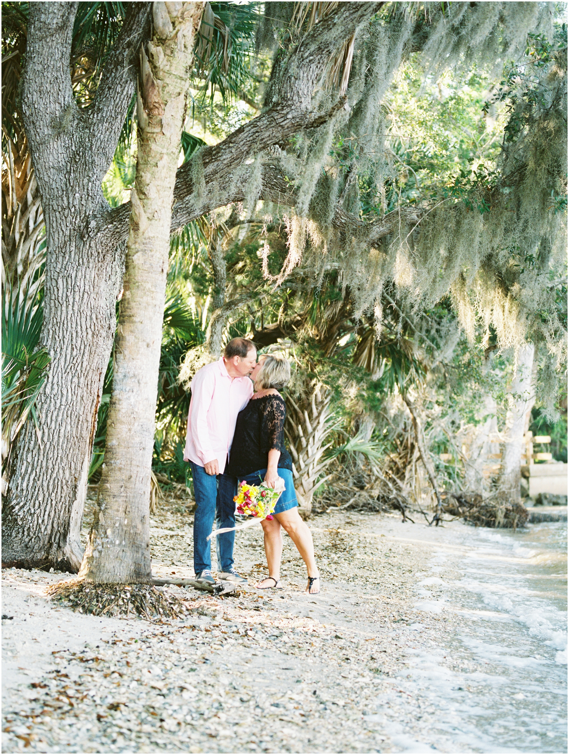 Lisa Silva Photography- Jacksonville, St. Augustine, Amelia Island, Ponte Vedra Beach, North East Florida Fine Art Film Photographer- Anniversary Session at Washington Oaks in Palm Coast, Florida_0052.jpg