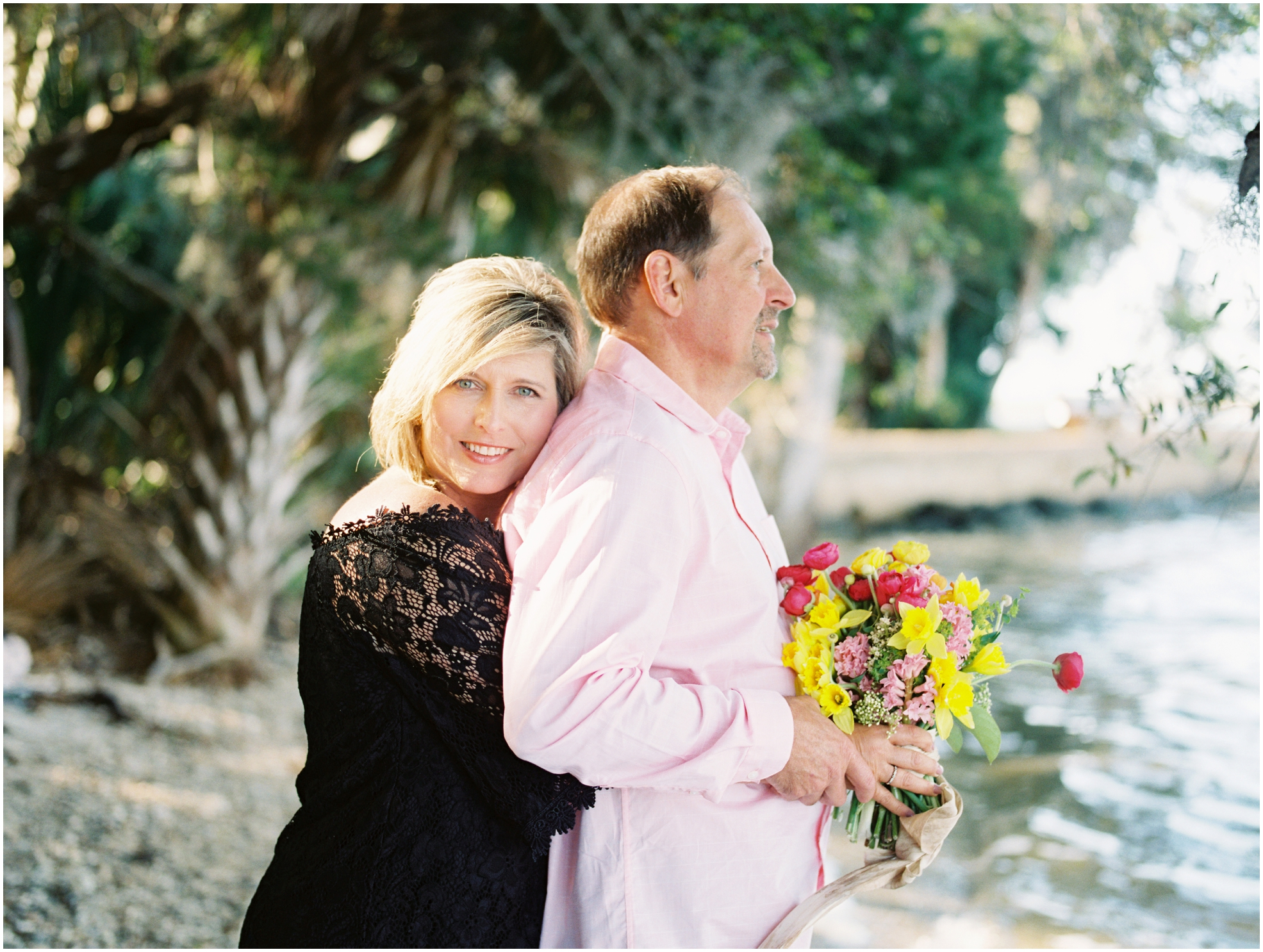 Lisa Silva Photography- Jacksonville, St. Augustine, Amelia Island, Ponte Vedra Beach, North East Florida Fine Art Film Photographer- Anniversary Session at Washington Oaks in Palm Coast, Florida_0055.jpg