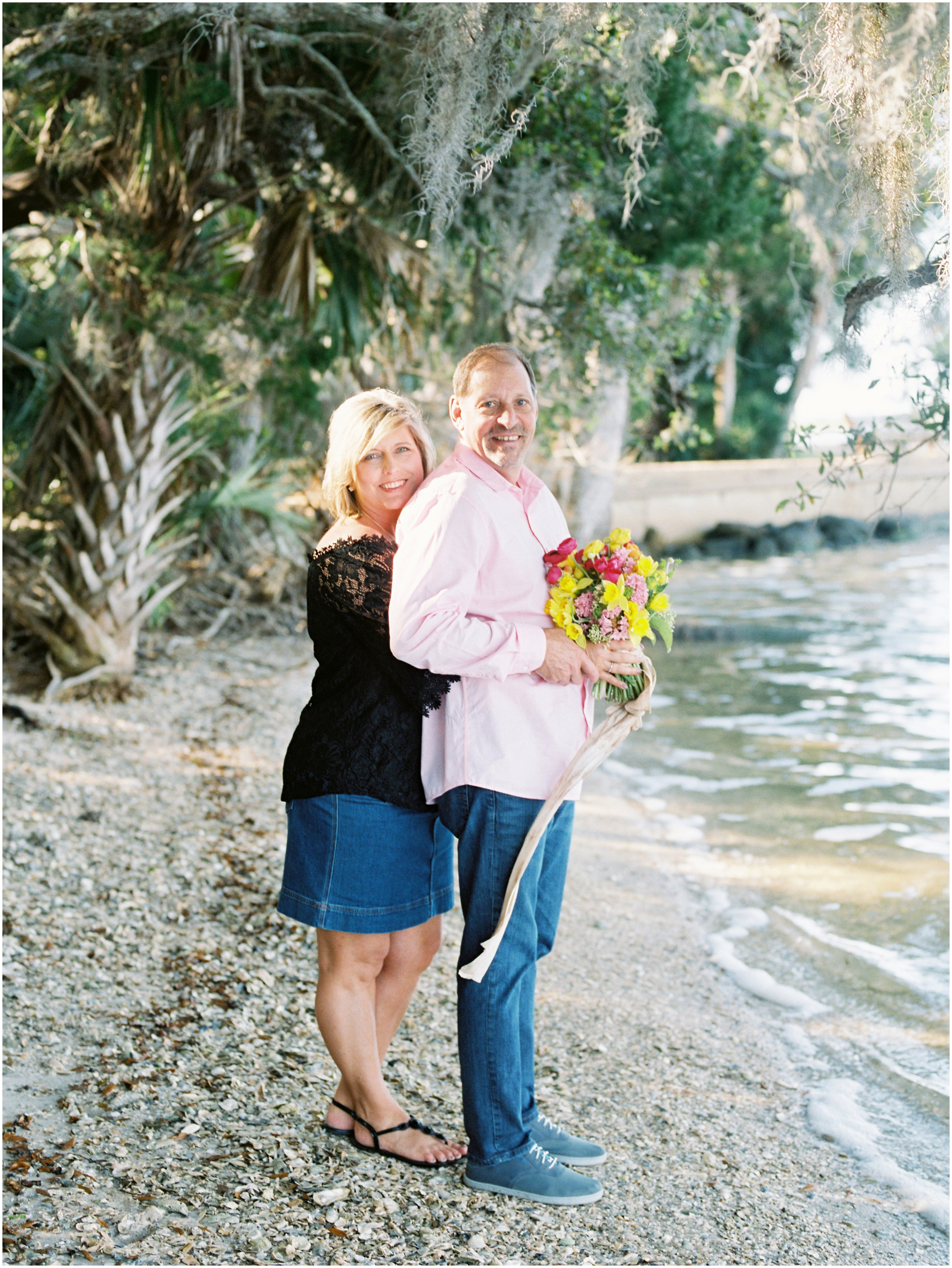 Lisa Silva Photography- Jacksonville, St. Augustine, Amelia Island, Ponte Vedra Beach, North East Florida Fine Art Film Photographer- Anniversary Session at Washington Oaks in Palm Coast, Florida_0054.jpg