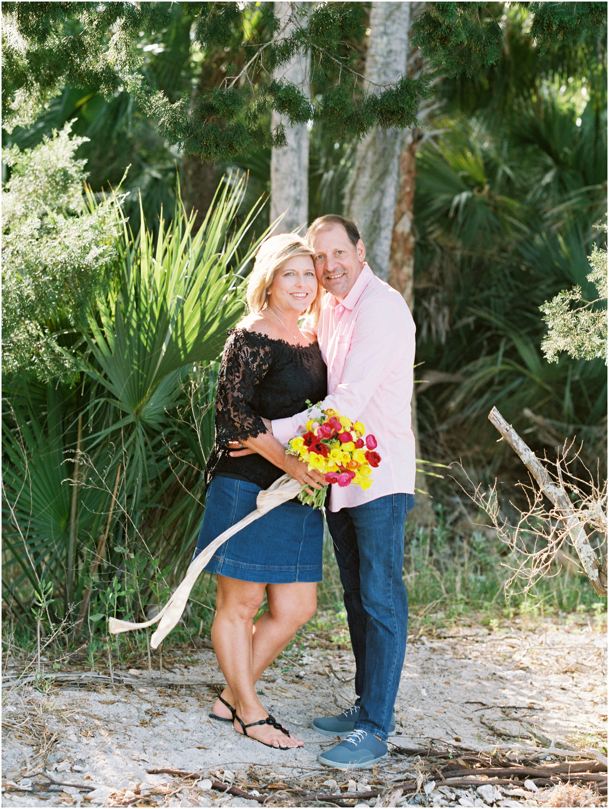 Lisa Silva Photography- Jacksonville, St. Augustine, Amelia Island, Ponte Vedra Beach, North East Florida Fine Art Film Photographer- Anniversary Session at Washington Oaks in Palm Coast, Florida_0056.jpg