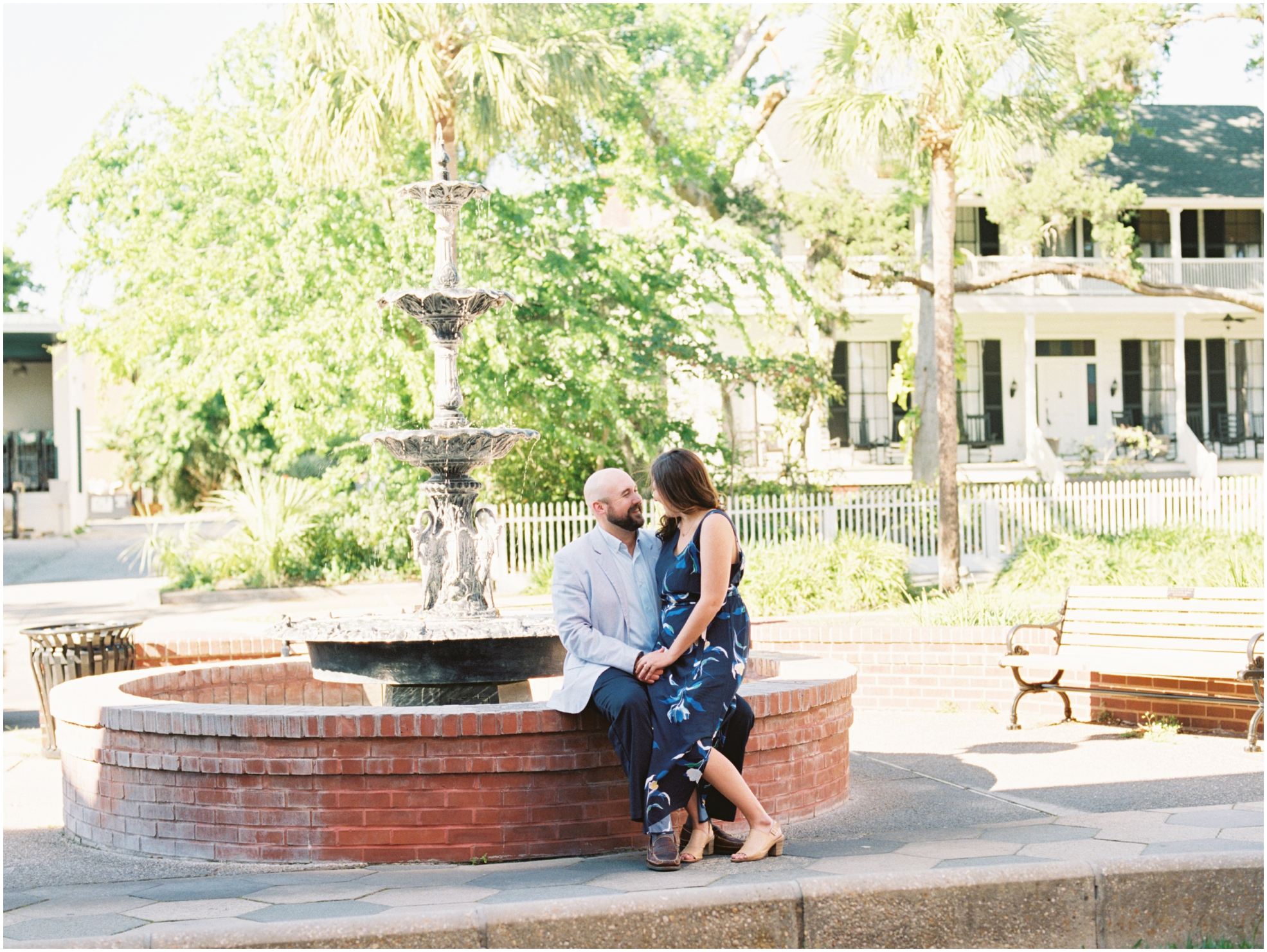 Lisa Silva Photography- Jacksonville, St. Augustine, Amelia Island, Ponte Vedra Beach, North East Florida Fine Art Film Photographer- Engagement Session in Historic Downtown Fernandina Beach- Amelia Island Wedding Photographer_0004.jpg
